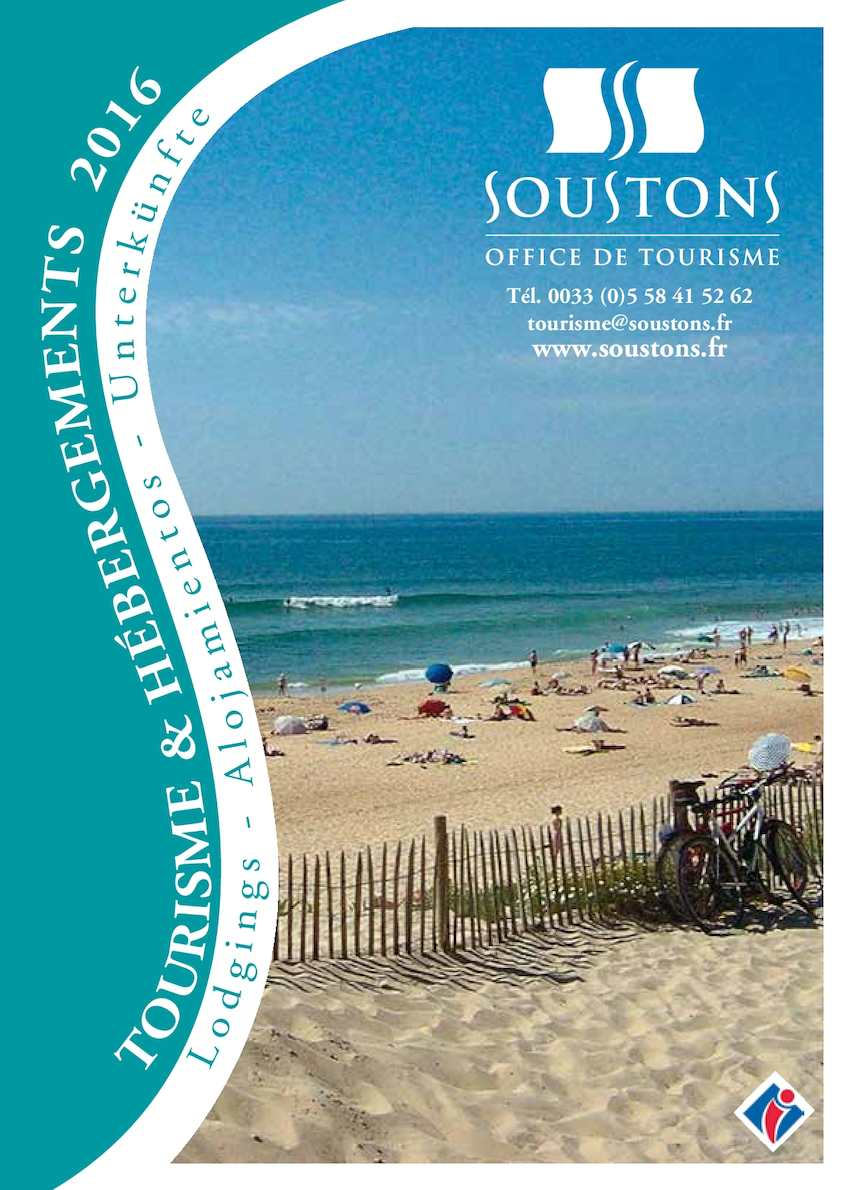 Calam o guide de soustons 2016 - Office de tourisme de soustons ...