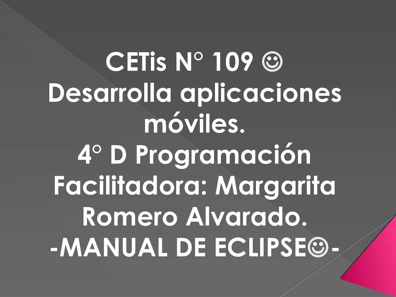 Calaméo - Emiliano Tutorial Eclipse