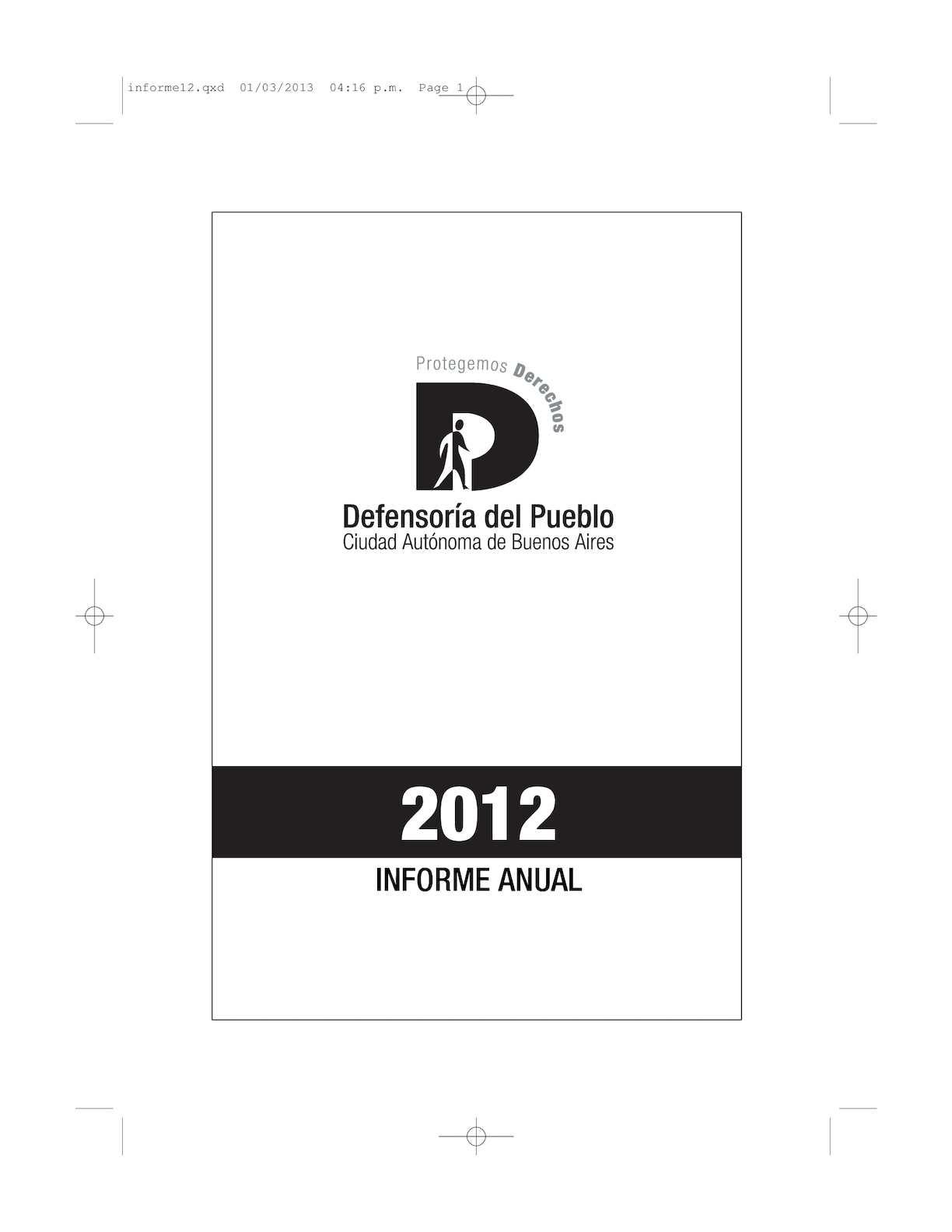 Calaméo - Informe Anual 2012
