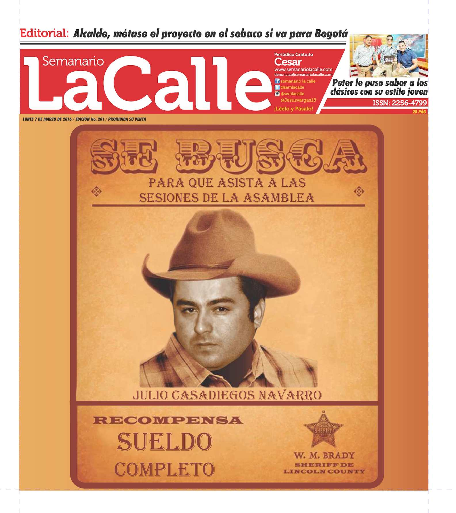 Calaméo - Semanario La Calle Edición 201