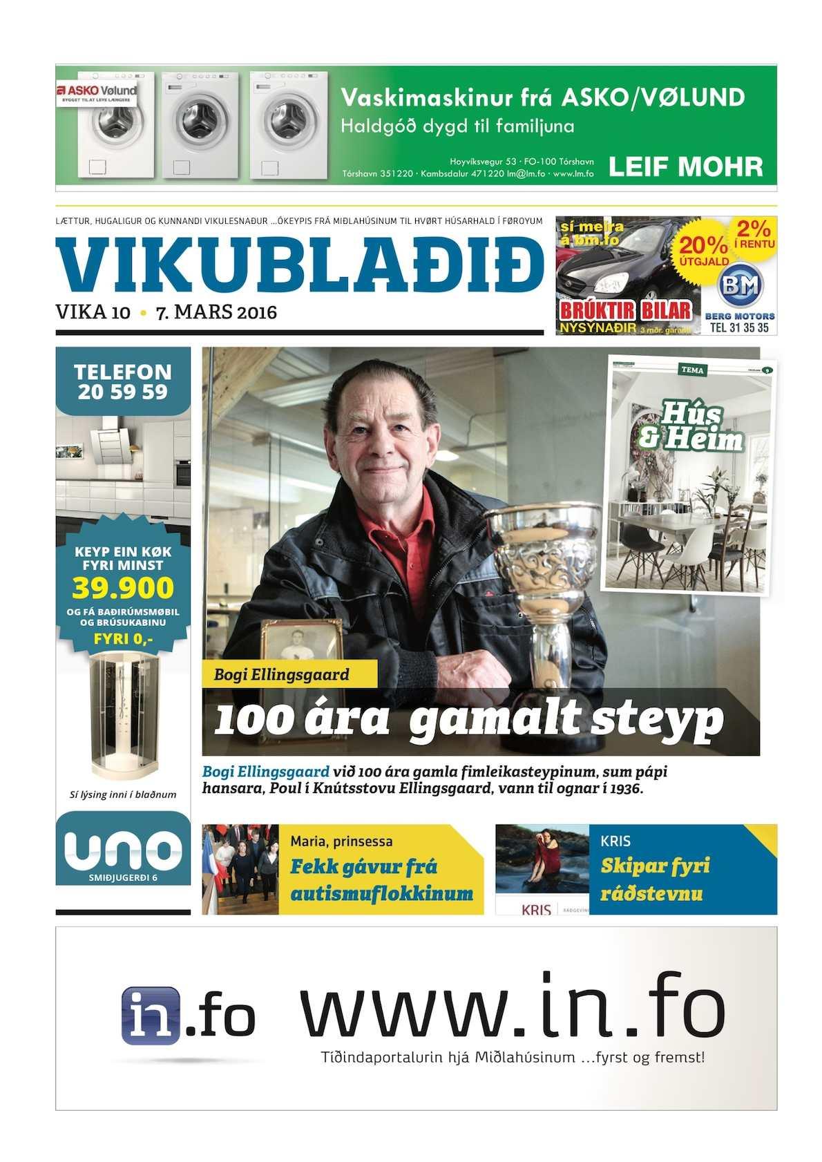 Vikublaðið 7. marts 2016