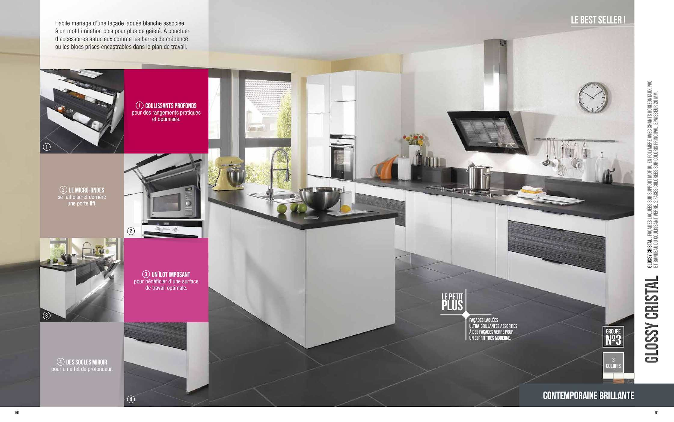 Credence verre led elegant credence cuisine aluminium for Credence de hotte