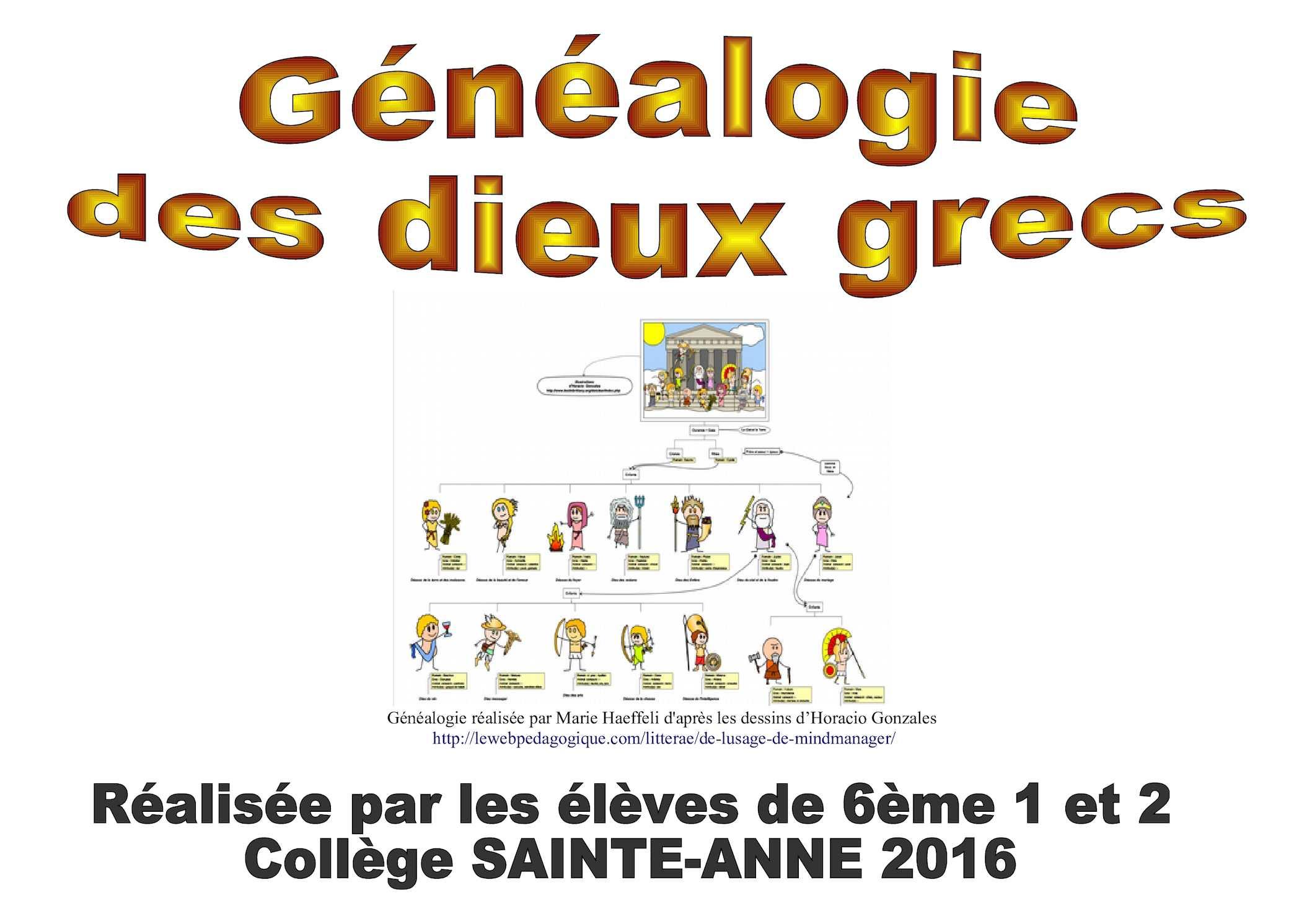 Extrêmement Calaméo - Généalogie des dieux grecs JO39