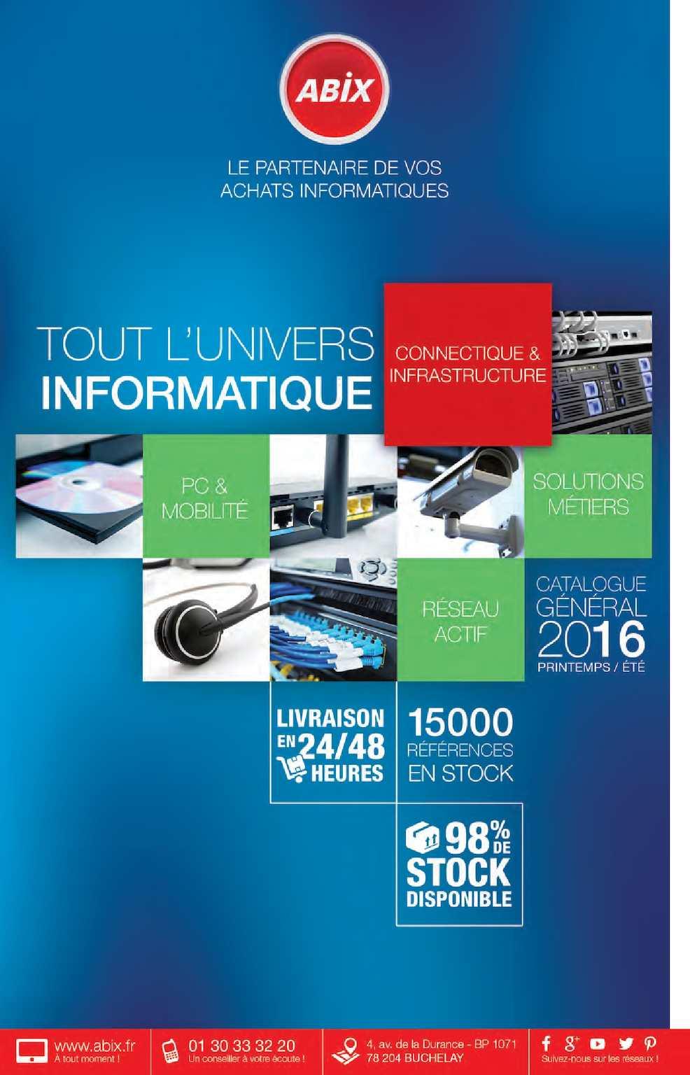 548010eab5ac10 Calaméo - Catalogue Général Abix Printemps   Eté 2016