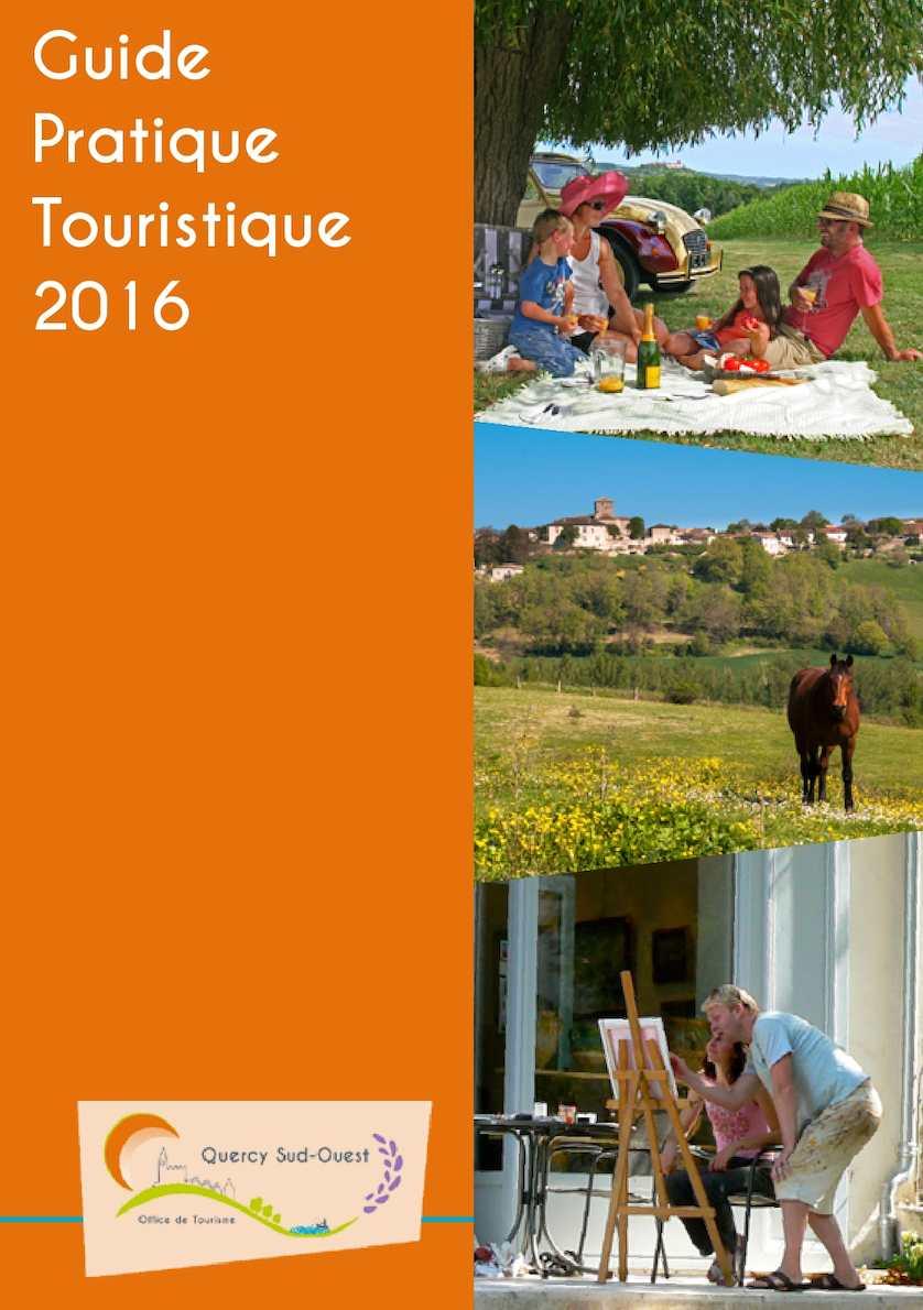 Guide Pratique Touristique 2016 - Quercy Sud-Ouest