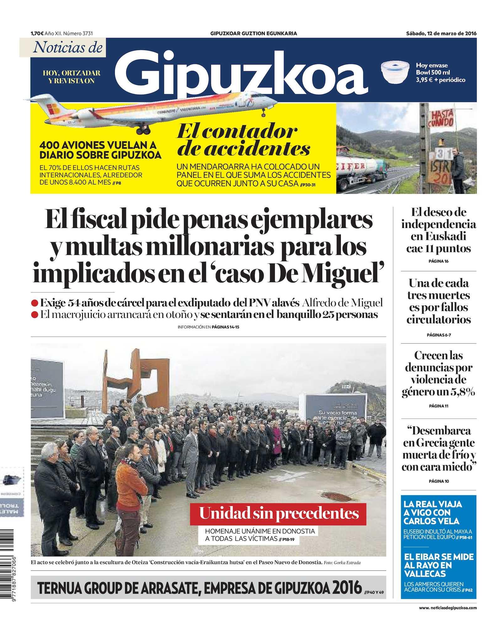 Calaméo - Noticias de Gipuzkoa 20160312