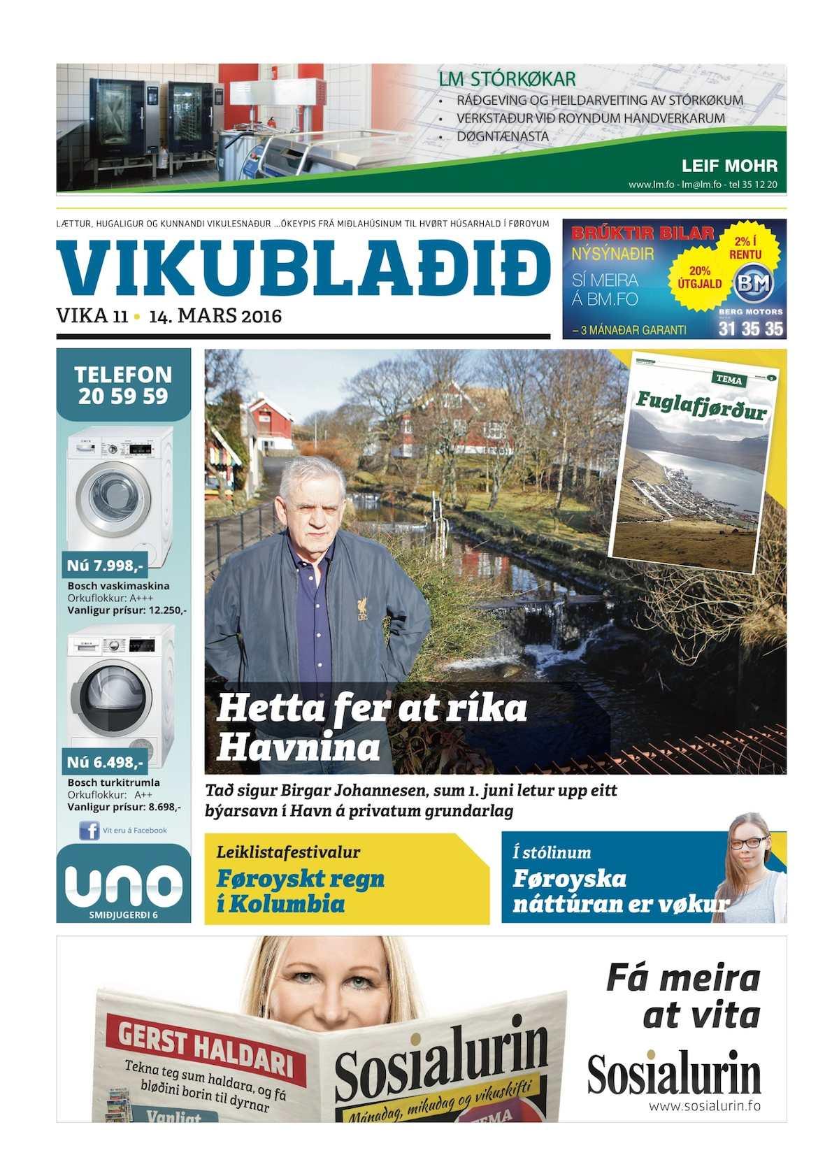 Vikublaðið 14. marts 2016