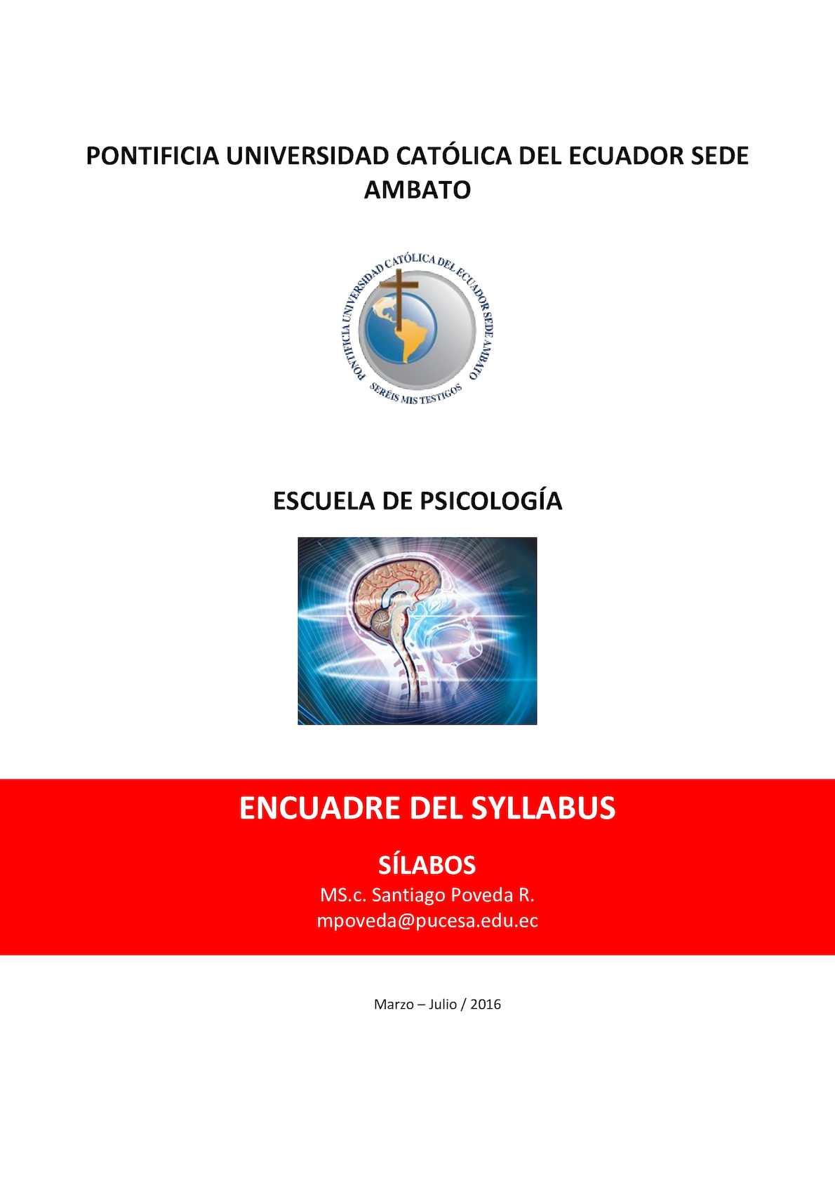 Calaméo - 1 Encuadre Syllabus