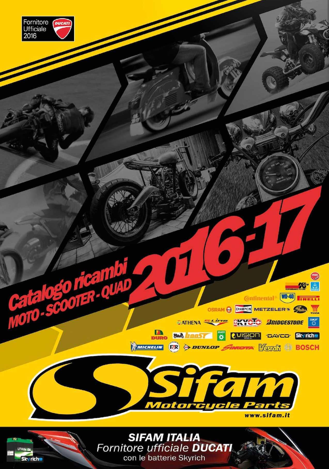 CATALOGUE SIFAM 2016 ITALIE / PARTIE 1