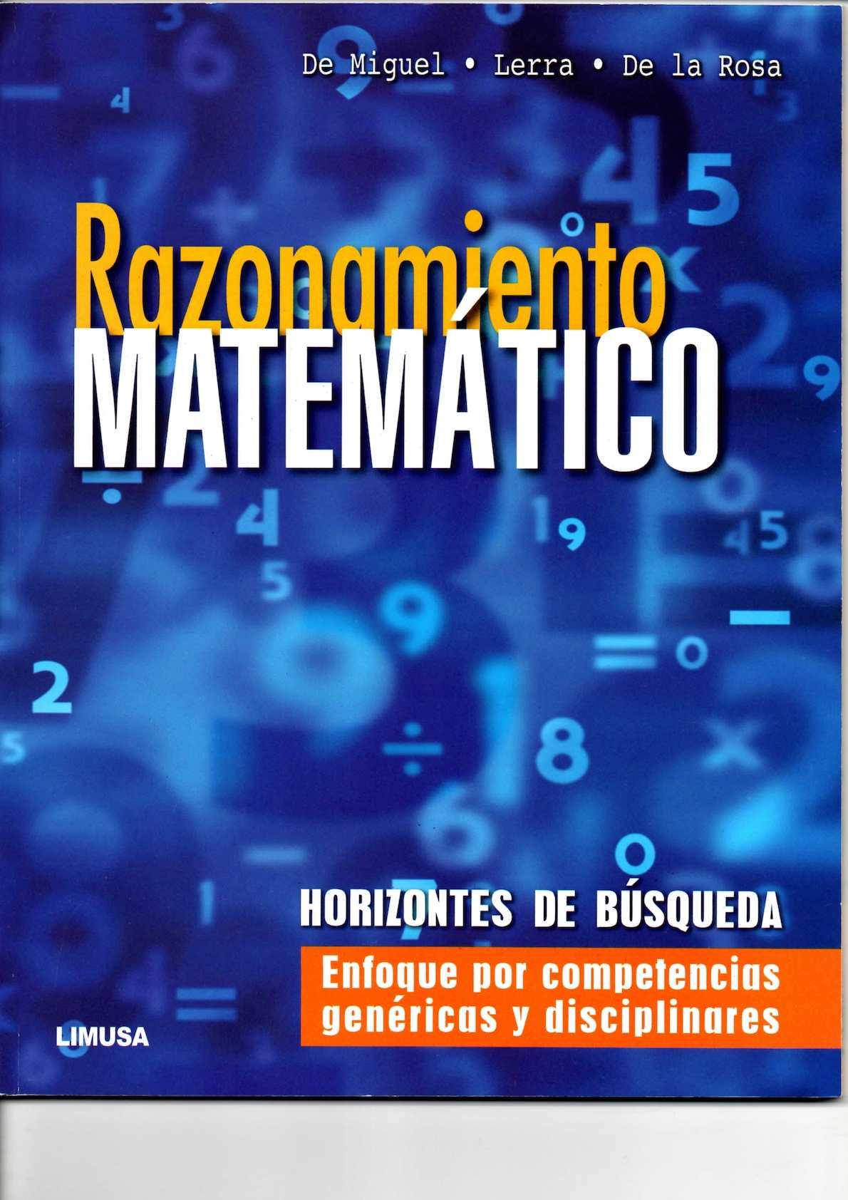 libro - Razonamiento Matematico
