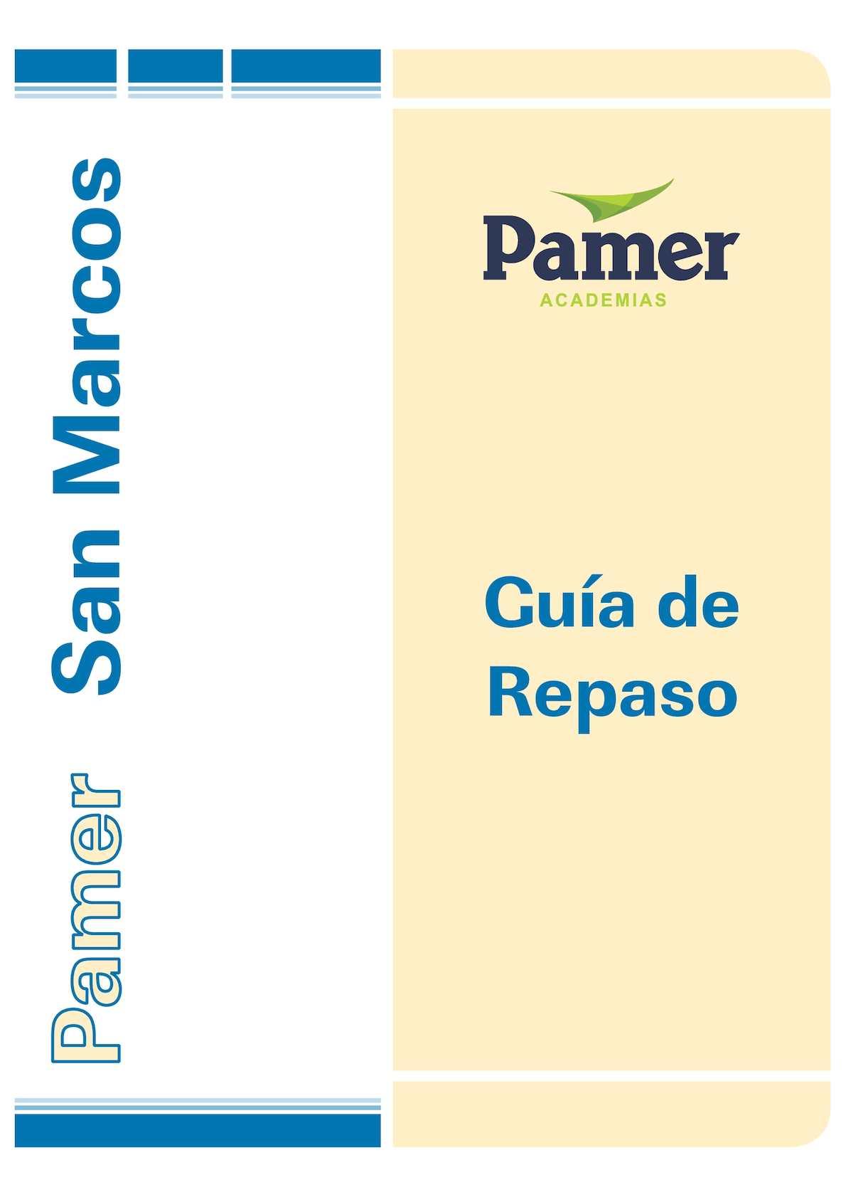 Calaméo - RM REPASO PAMER 2015 San Marcos Con Clave