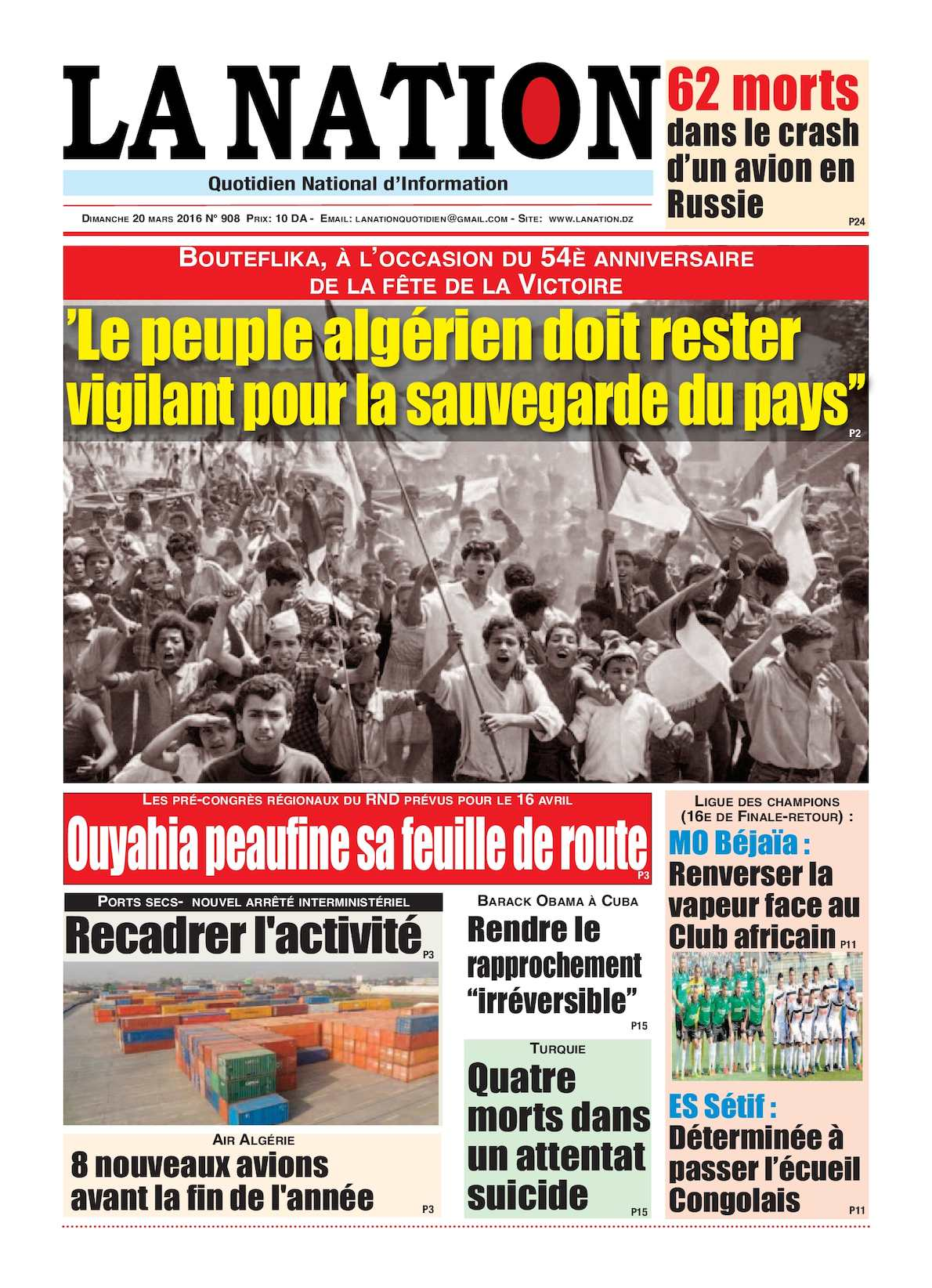 La Nation Edition N 908
