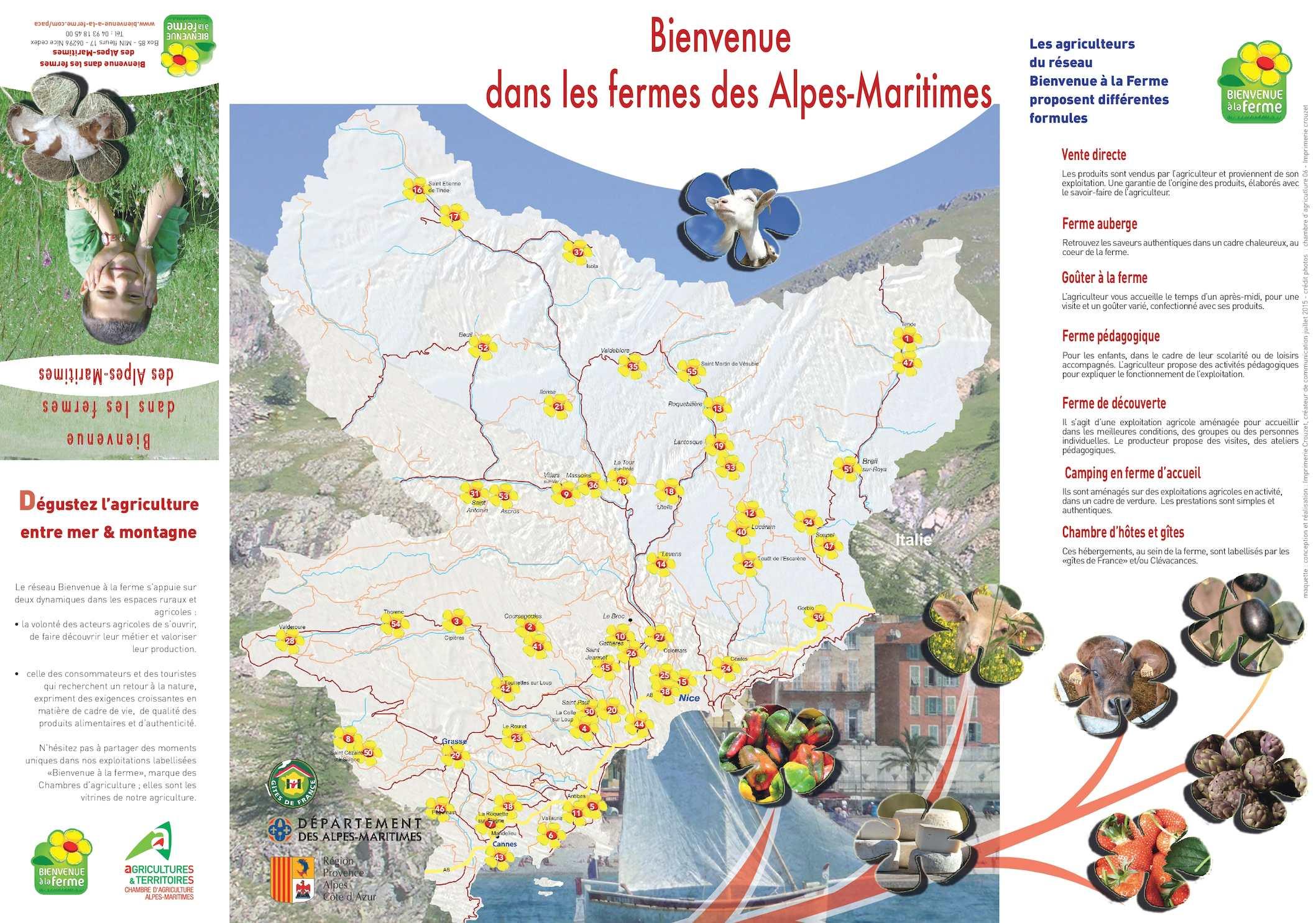 Calaméo 2015 Guide Bienvenue  la Ferme Alpes Maritimes
