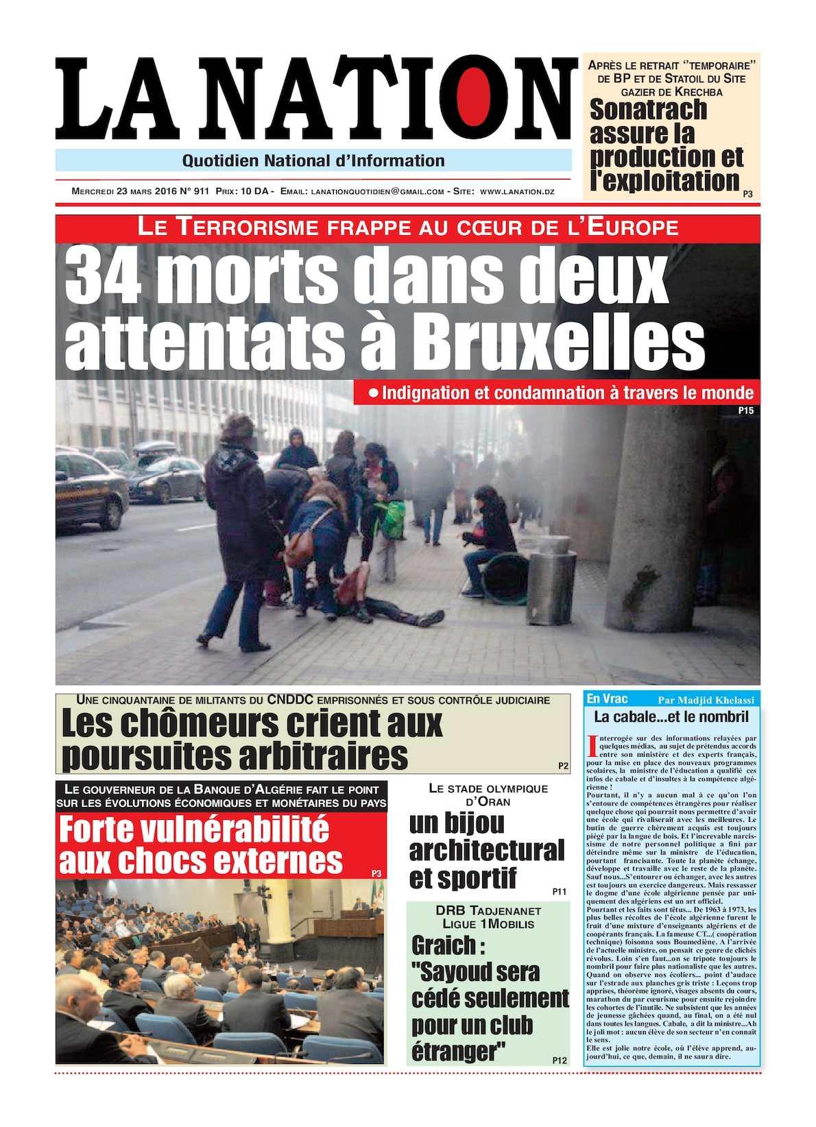 La Nation Edition N 911