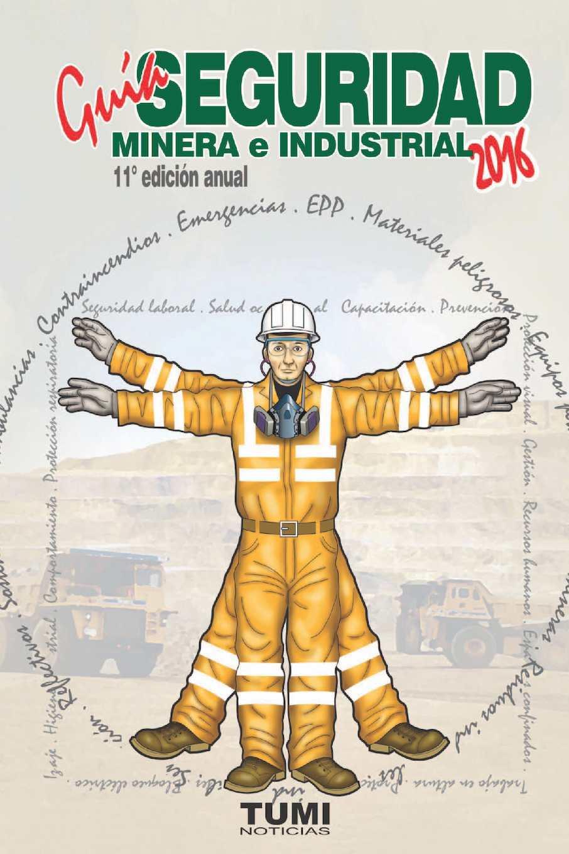Guía de Seguridad Minera e Industrial 2016