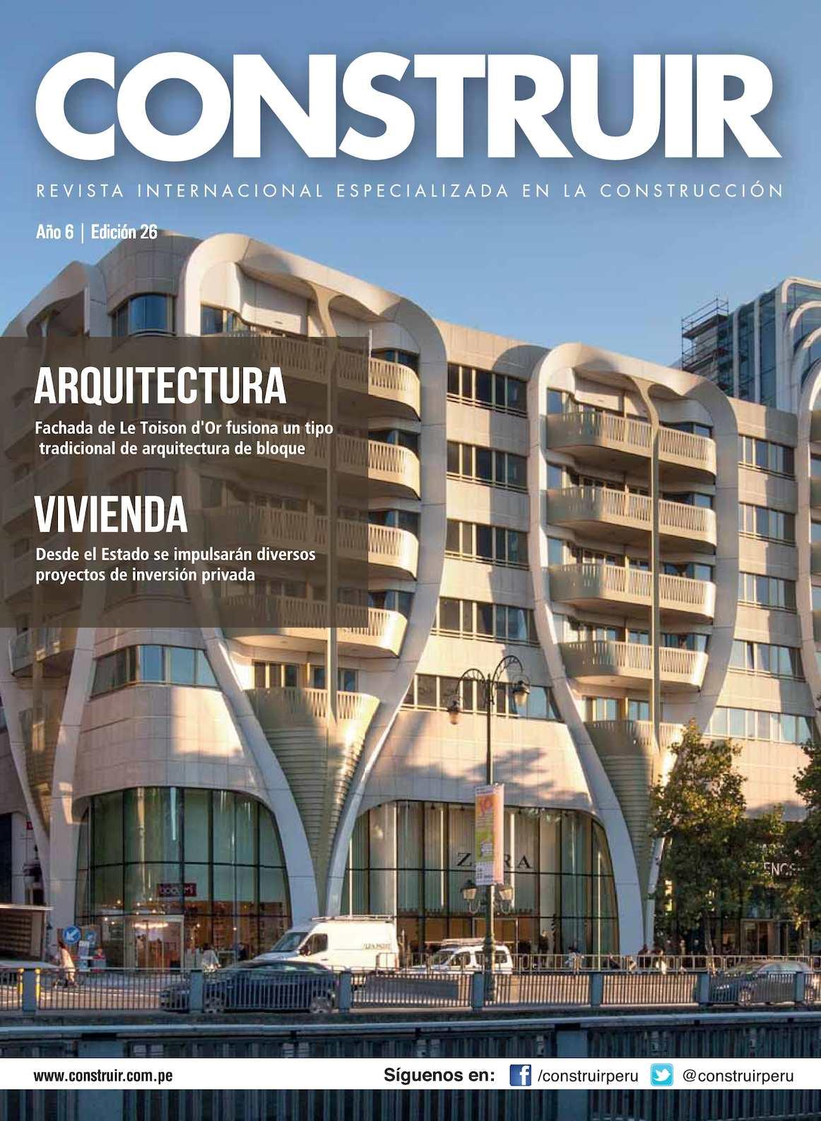 Revista Construir Edición Nº 26