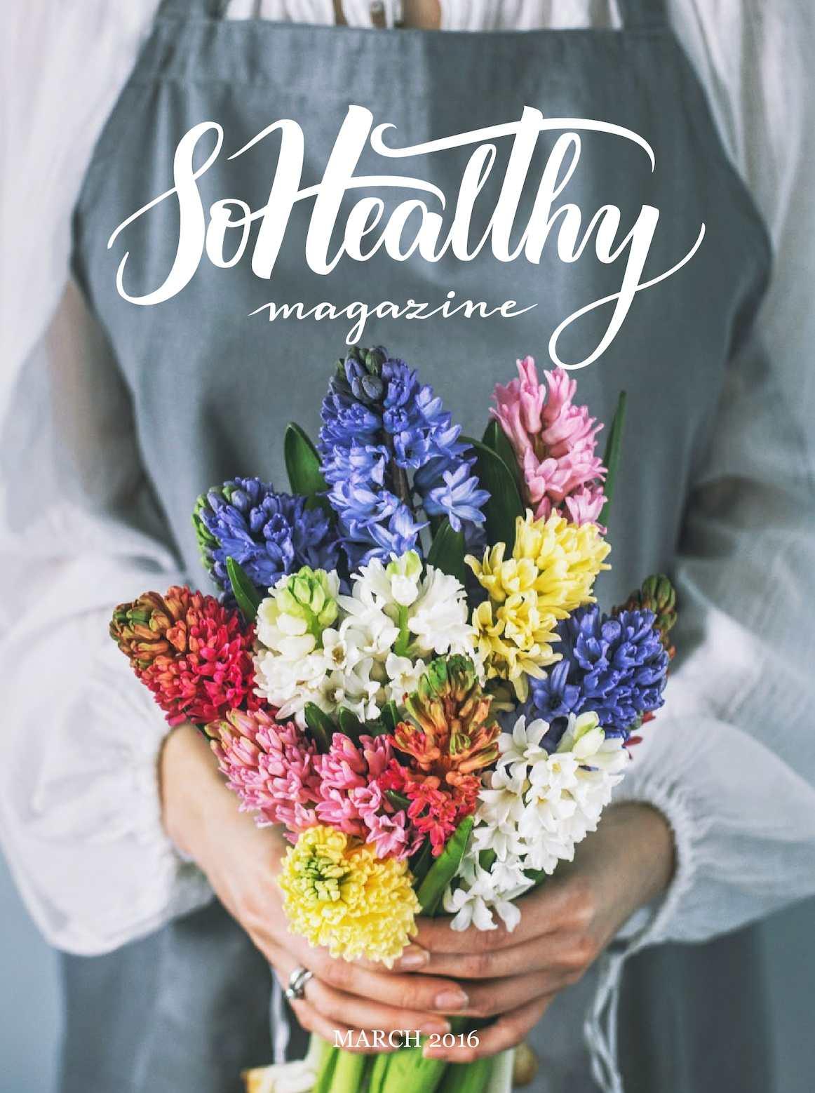SoHealthy Magazine march'16