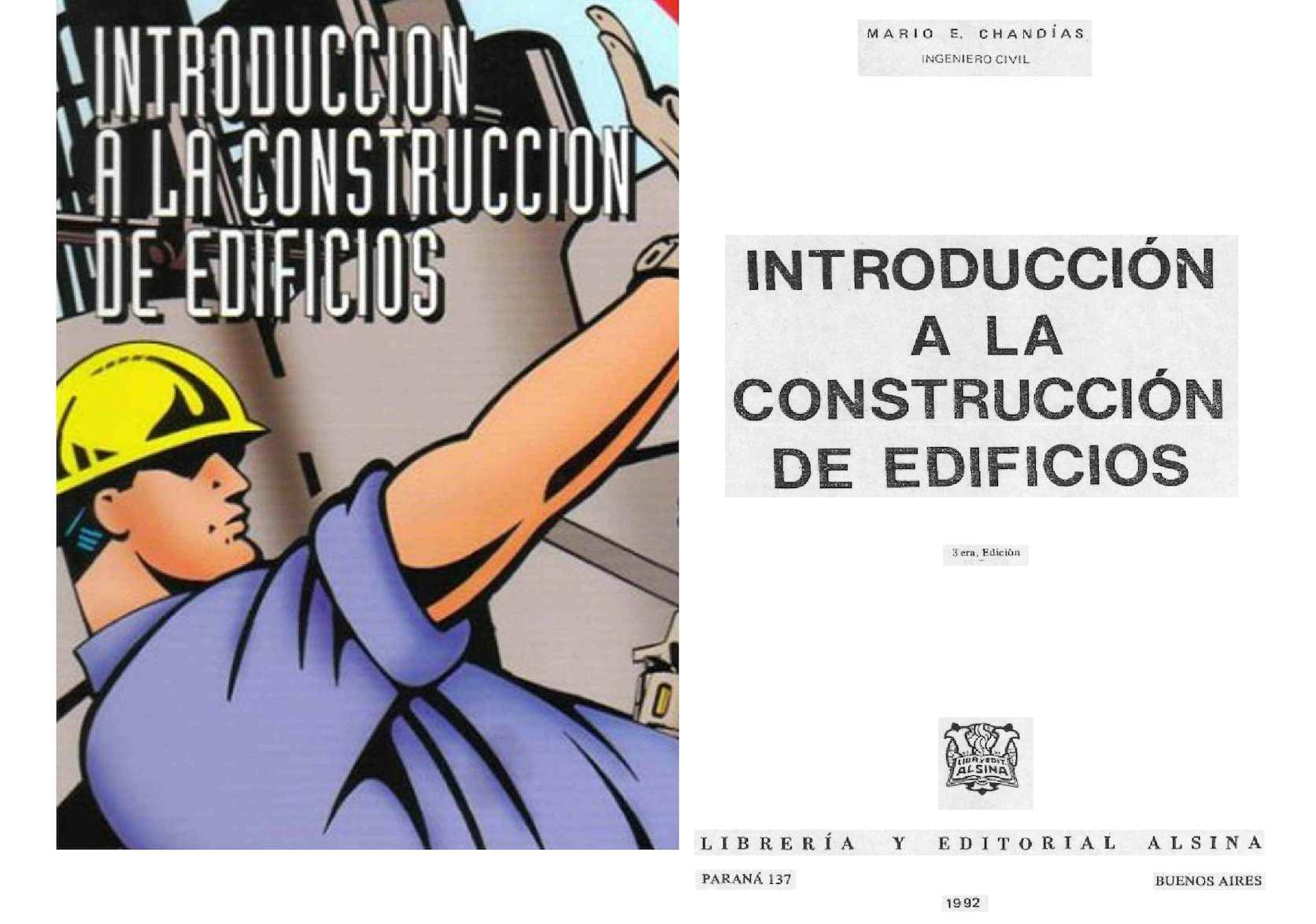 Introducción a la Construcción de Edificios; Mario E. Chandías