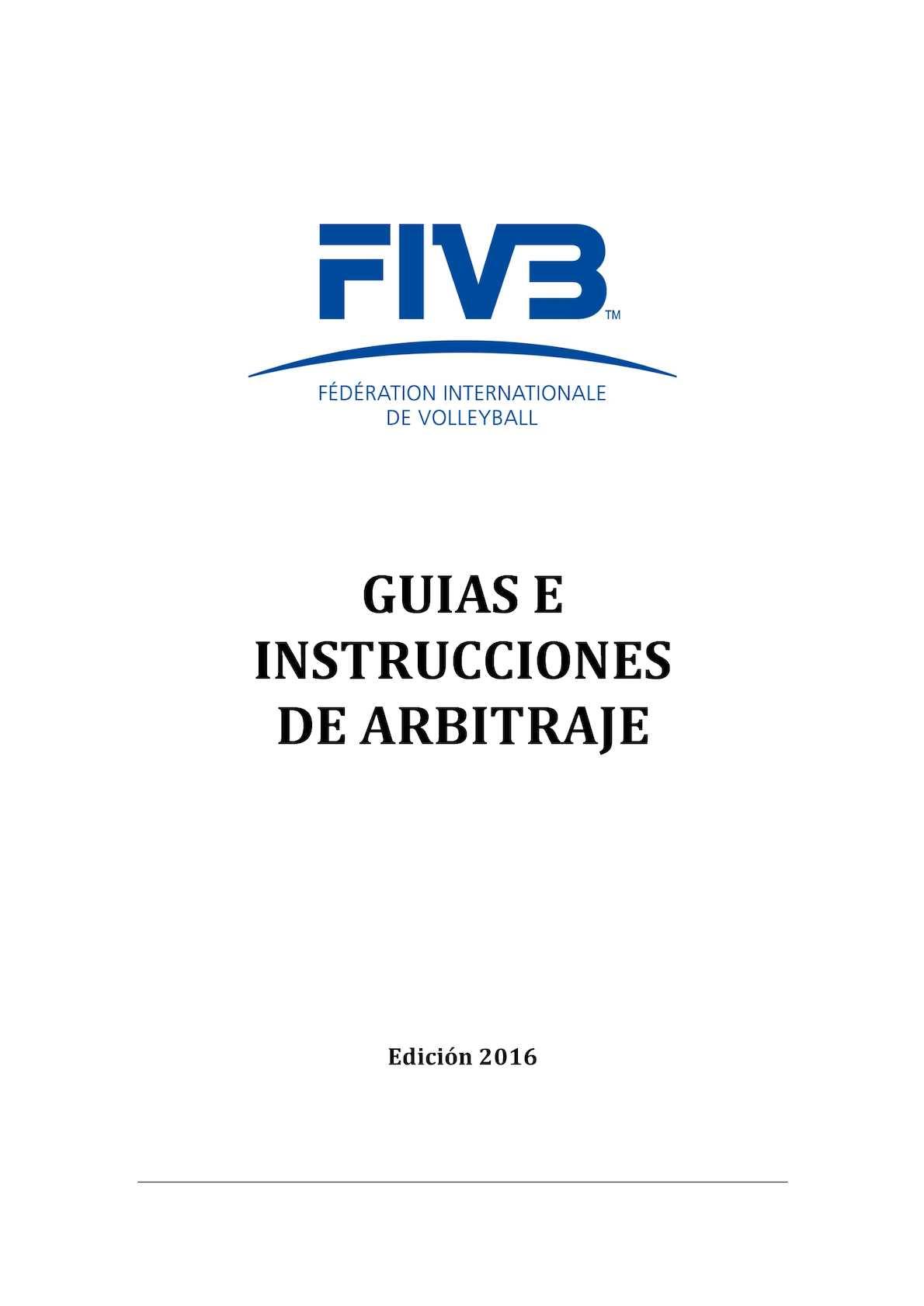 Calaméo - Guias E Instrucciones De Arbitraje 2016 Espanol Final ...