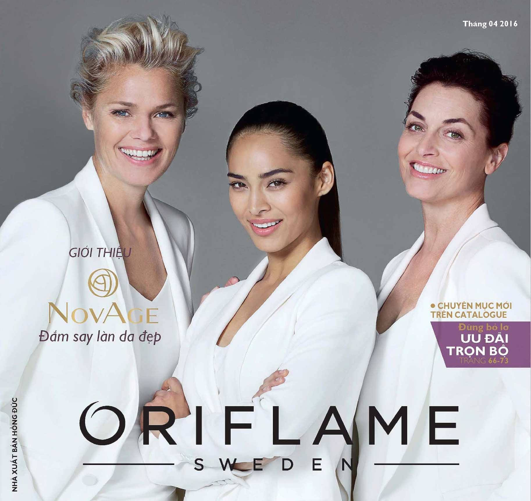 Catalogue My Pham Oriflame 4-2016