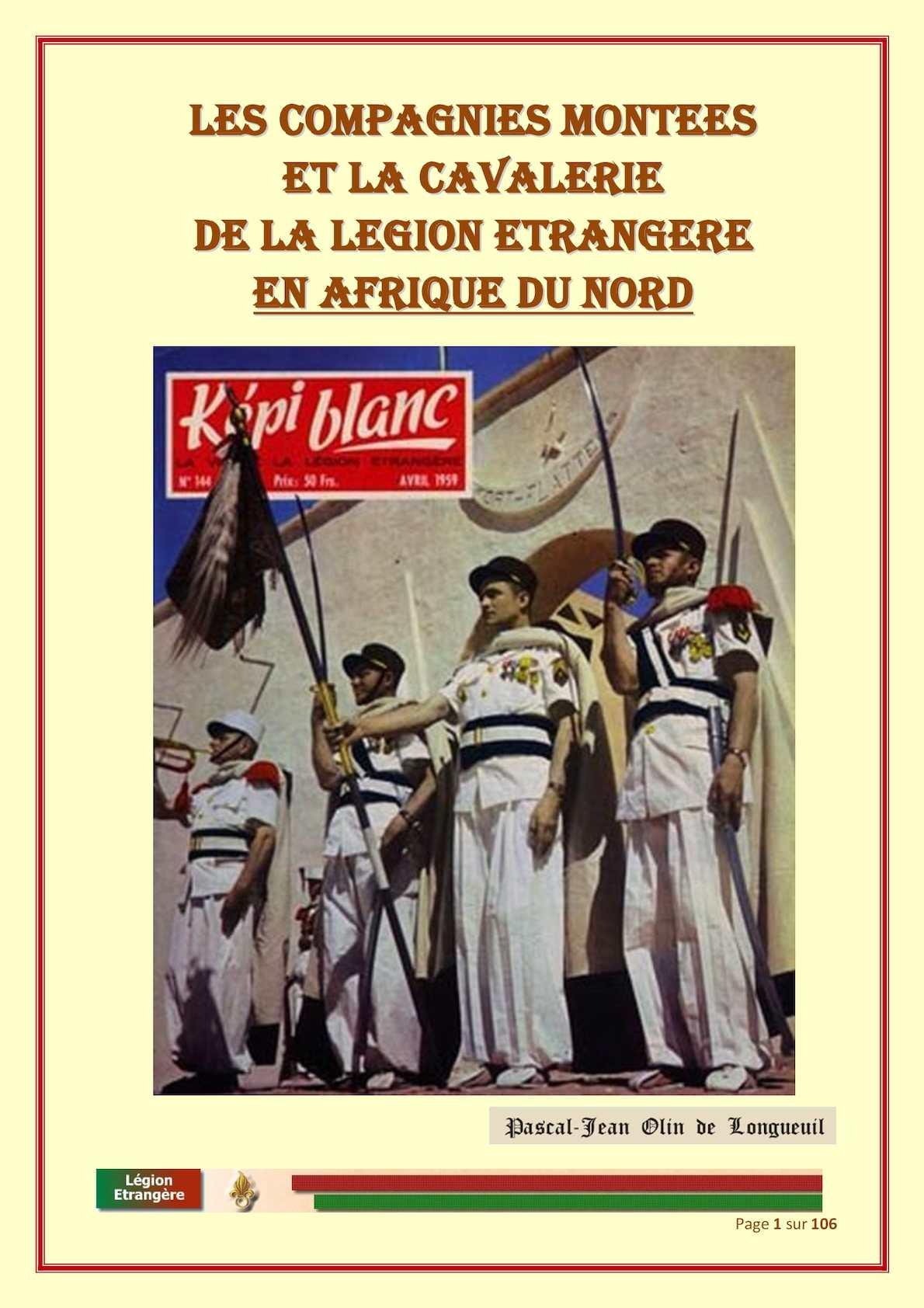 Les Compagnies Montées De La Légion éTrangère V 05