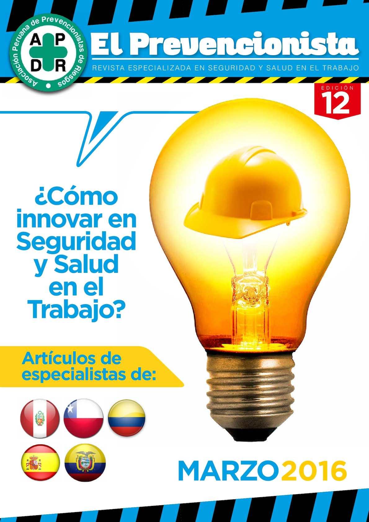 Revista El Prevencionista 12ava Ed