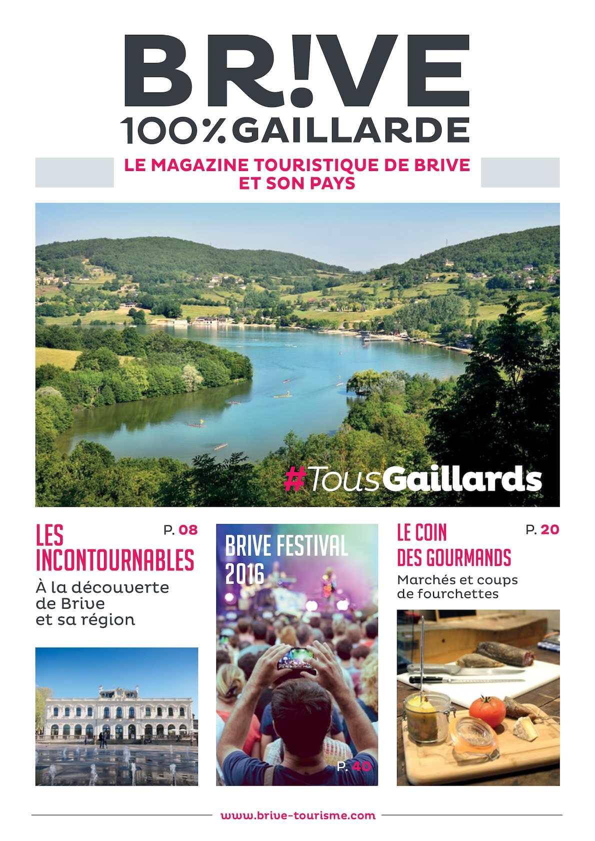 Calam o le mag 100 gaillard 2016 - Office de tourisme de brive ...
