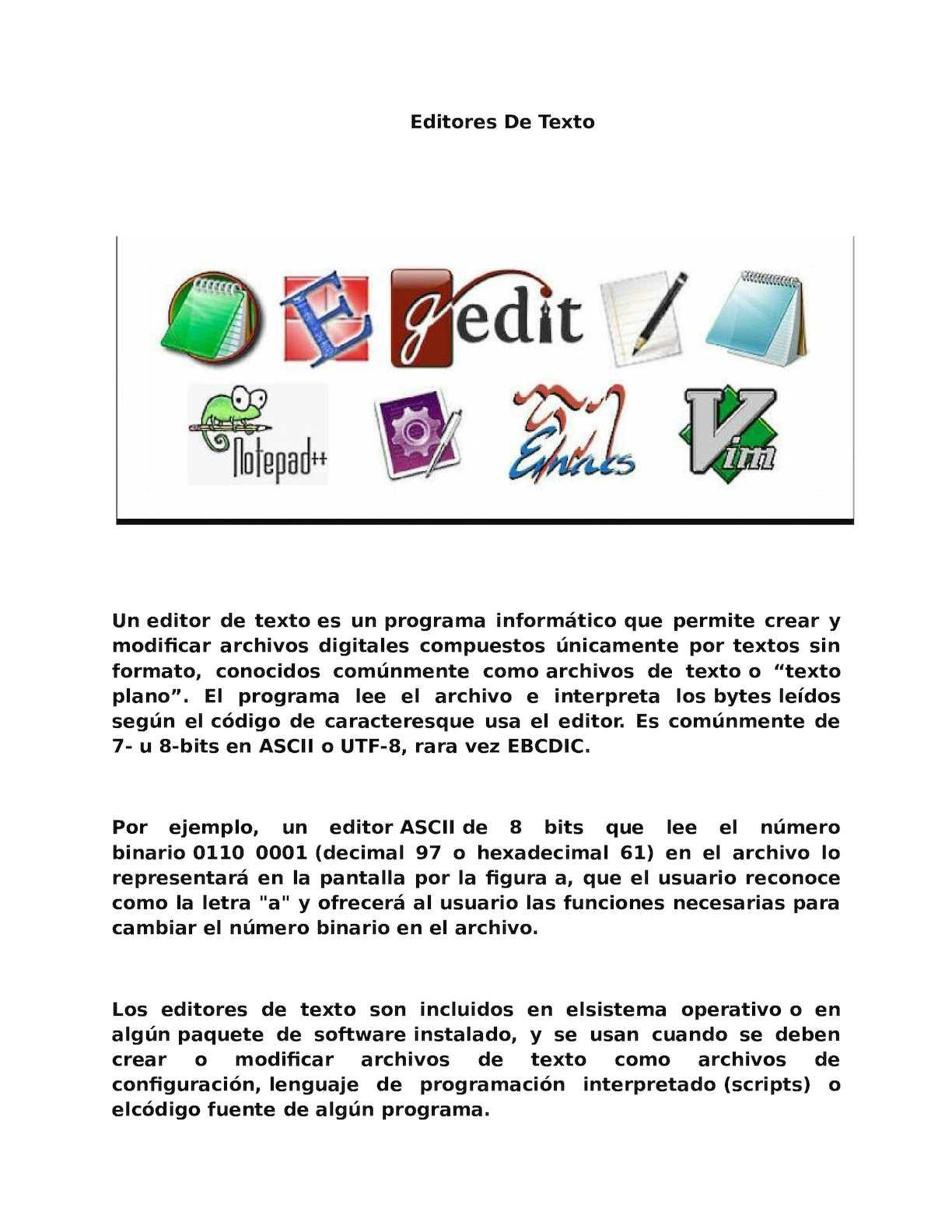 Calaméo - Editores De Texto