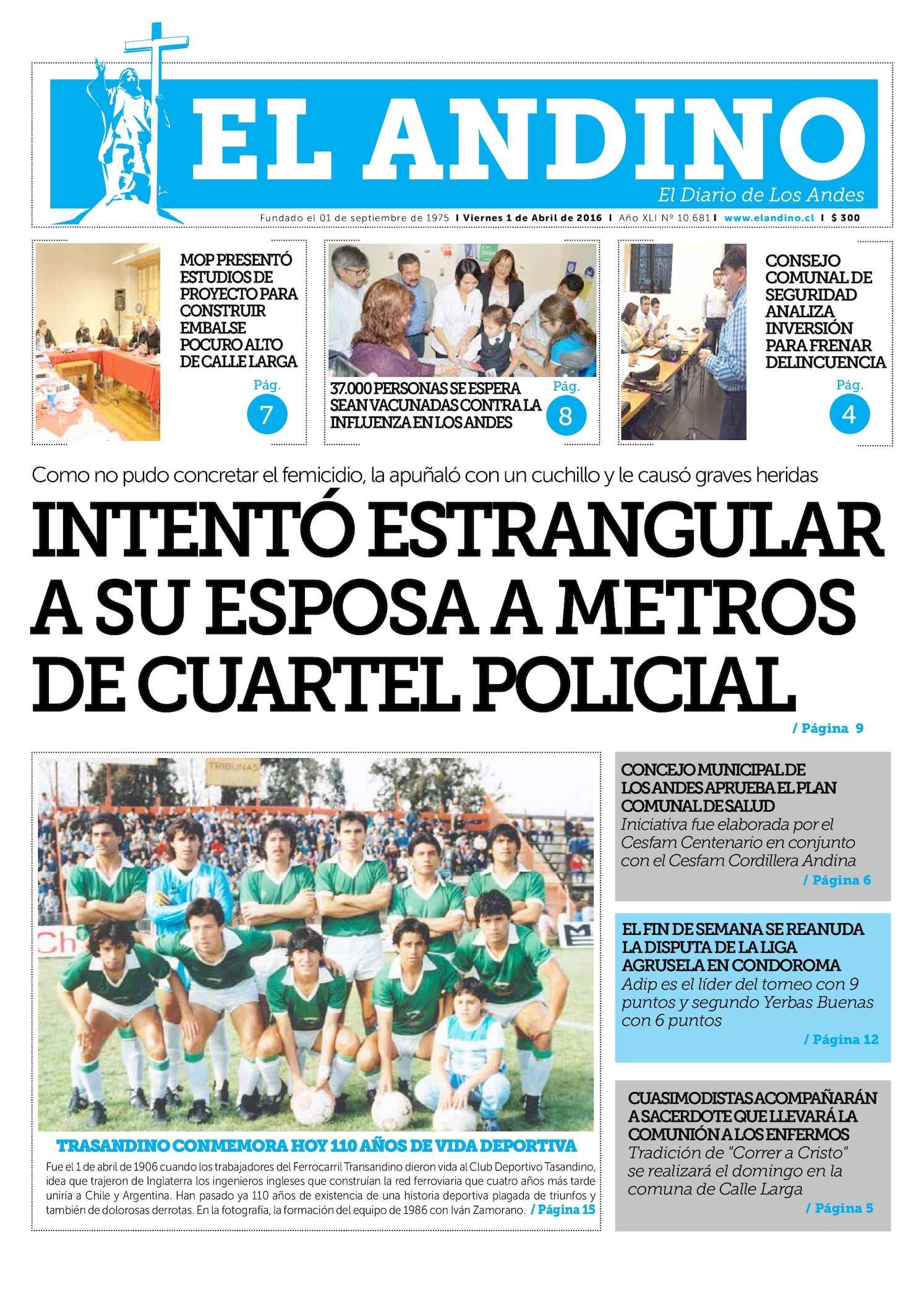 Calaméo - Diario El Andino - Viernes 01 De Abril De 2016