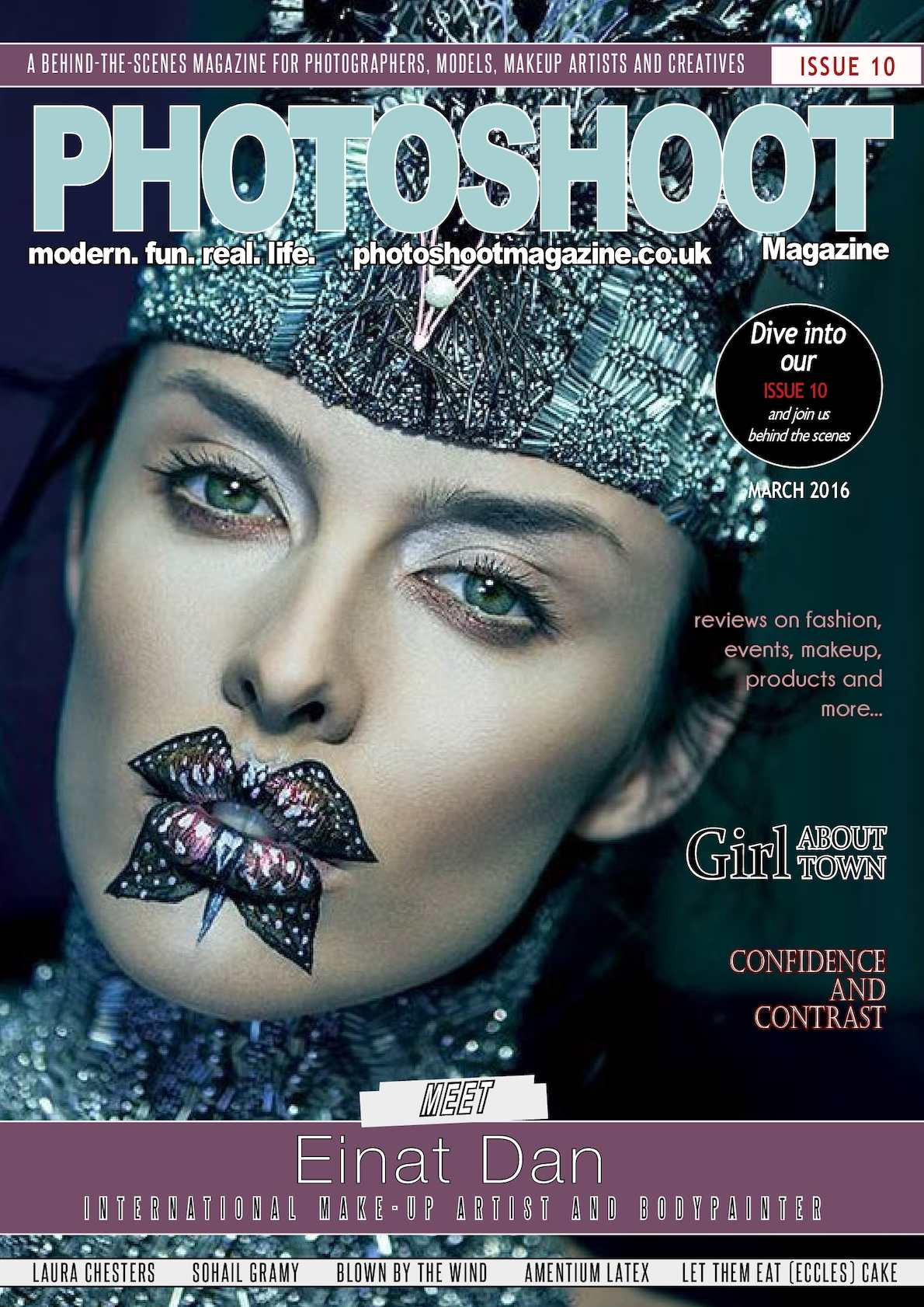 Digital Photography Book Cover : Calaméo photoshoot magazine issue march