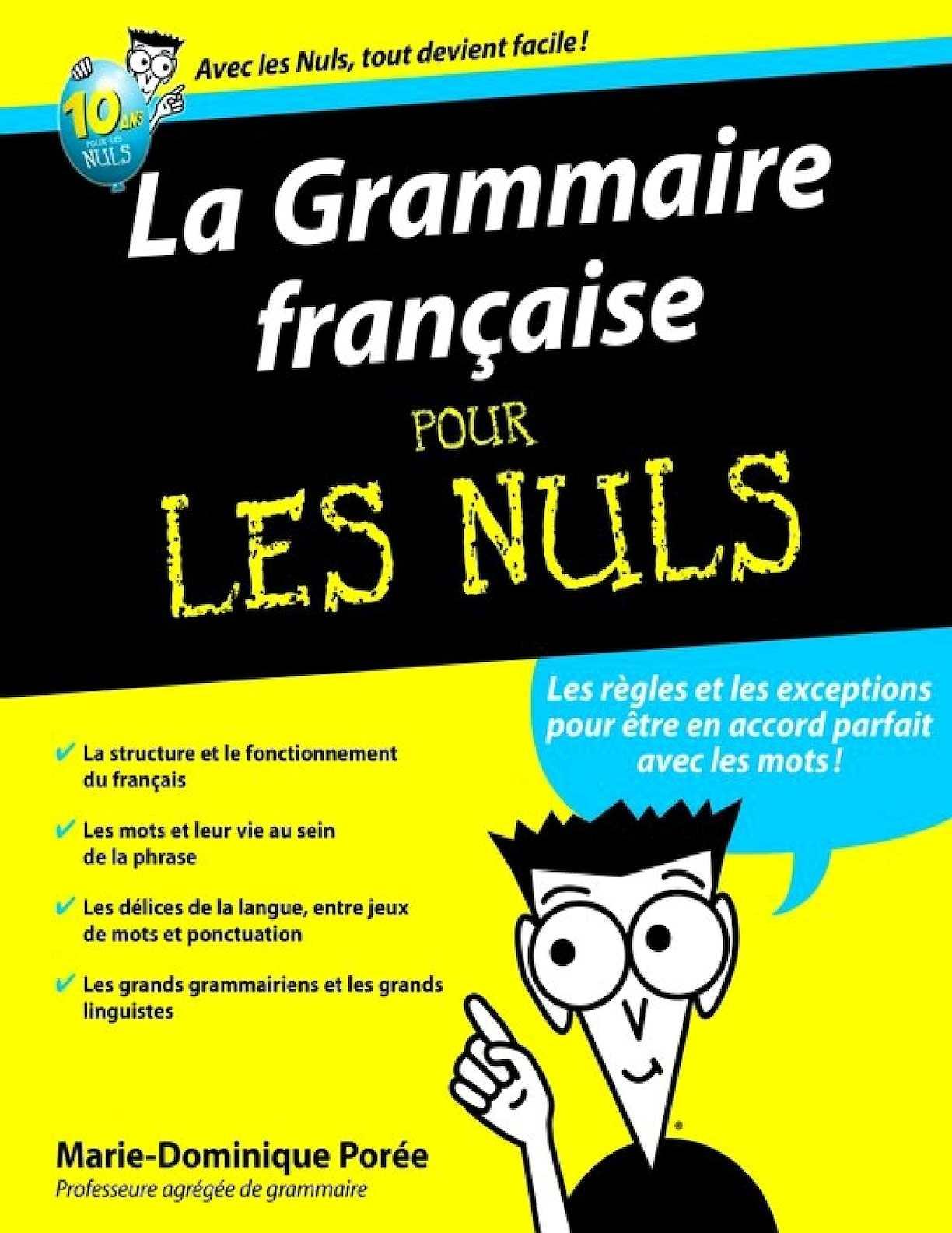 calam o livre la grammaire francaise pour les nuls. Black Bedroom Furniture Sets. Home Design Ideas