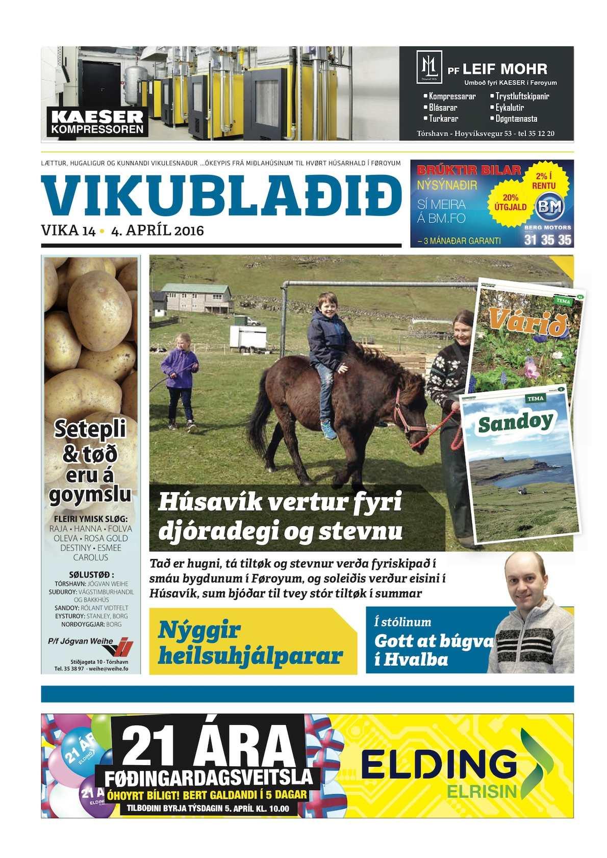 Vikublaðið 4. apríl 2016