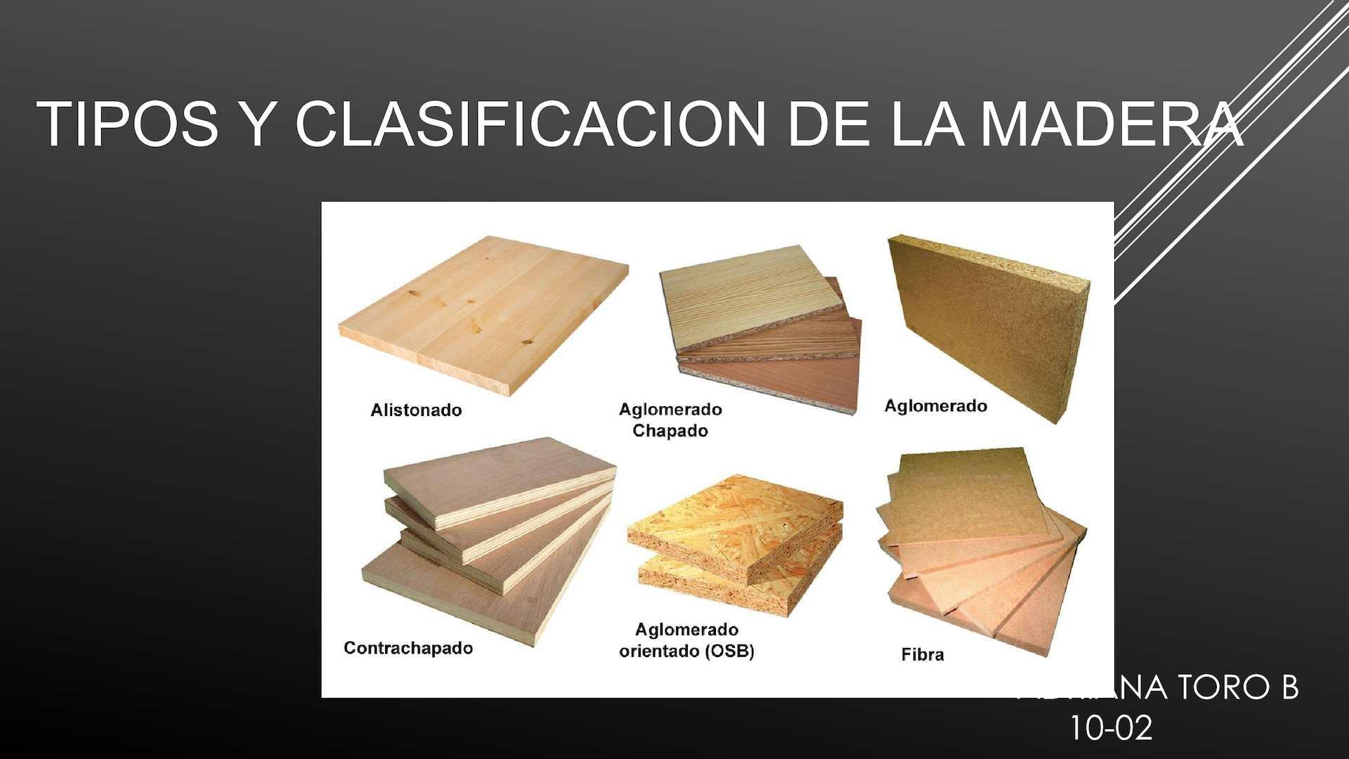 Calam o tipos y clasificaci n de la madera - Tipos de barnices para madera ...