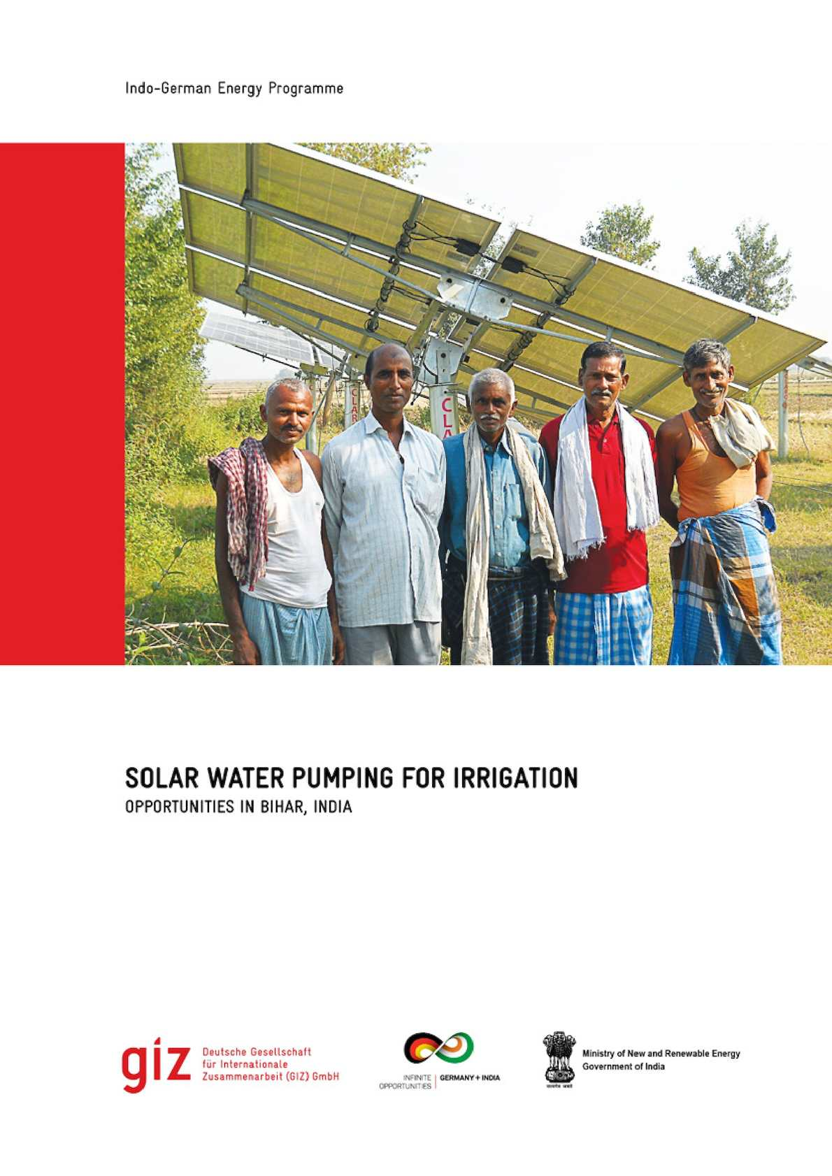 Solar Power Water Pumping For Irrigation In Bihar India