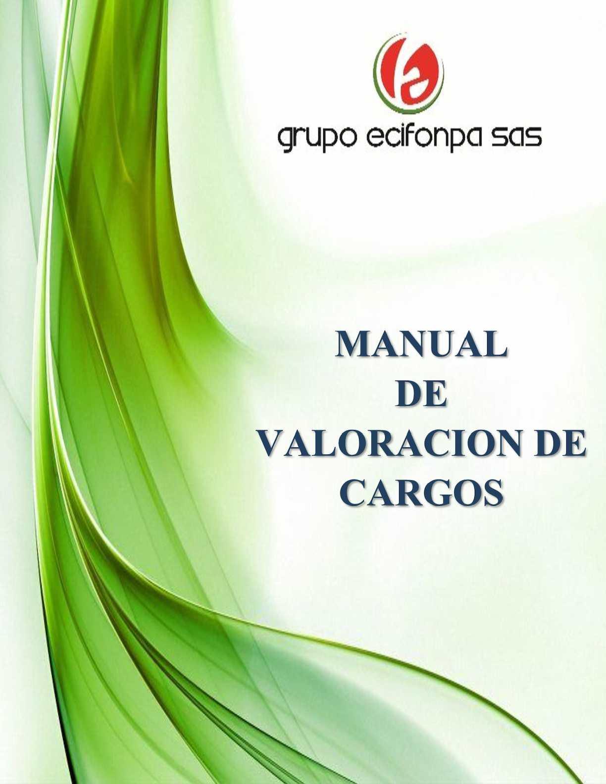 Manual de Valoración de Cargos