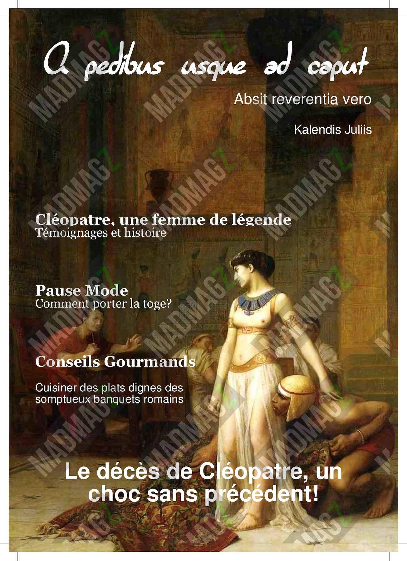 Groupe 5 Cléopâtre