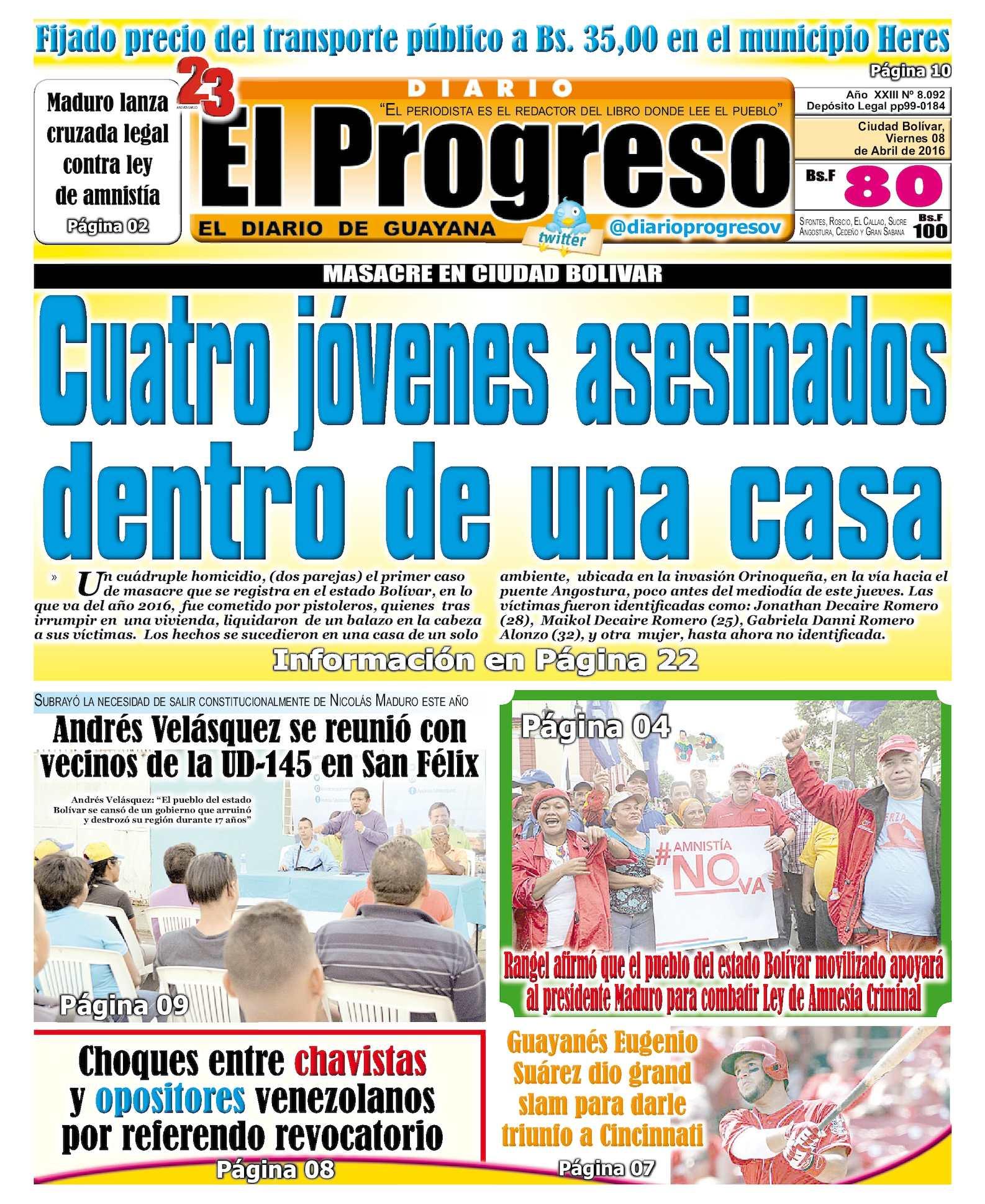 Calaméo - DiarioelprogresoEDICIÓNDIGITAL 08-04-2016