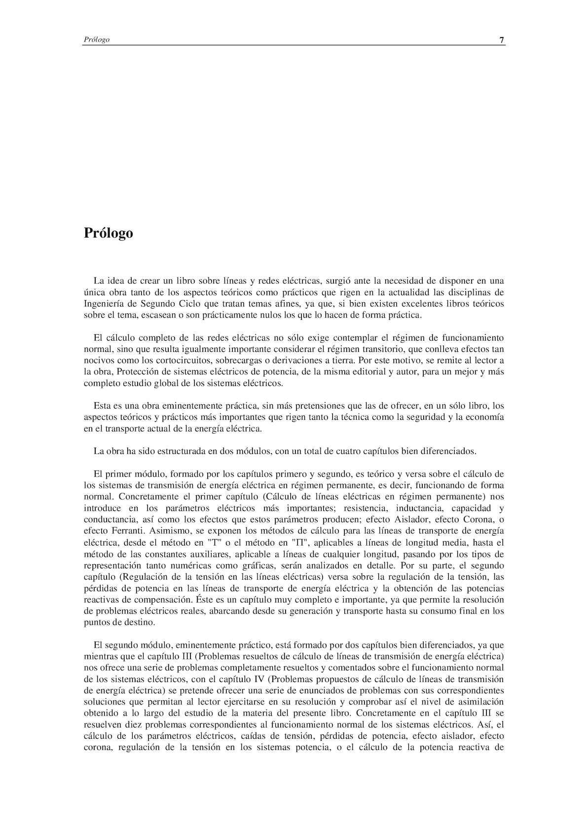 Calculo de Lineas y Redes Electricas - VAF