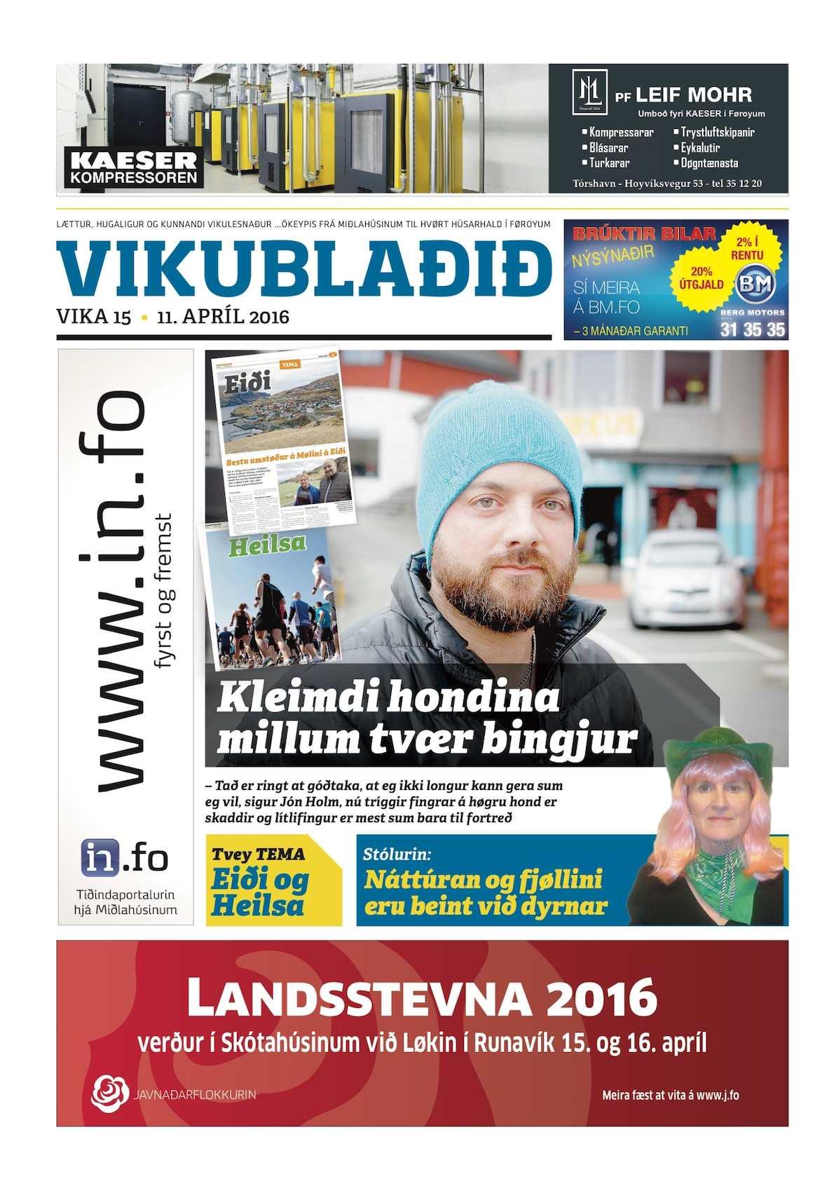 Vikublaðið 11. apríl 2016