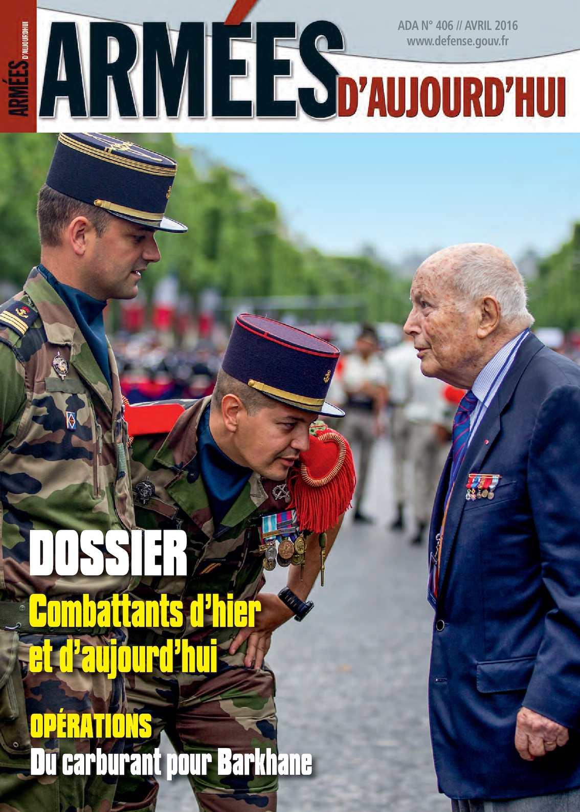 Armées d'Aujourd'hui n° 406 Avril 2016