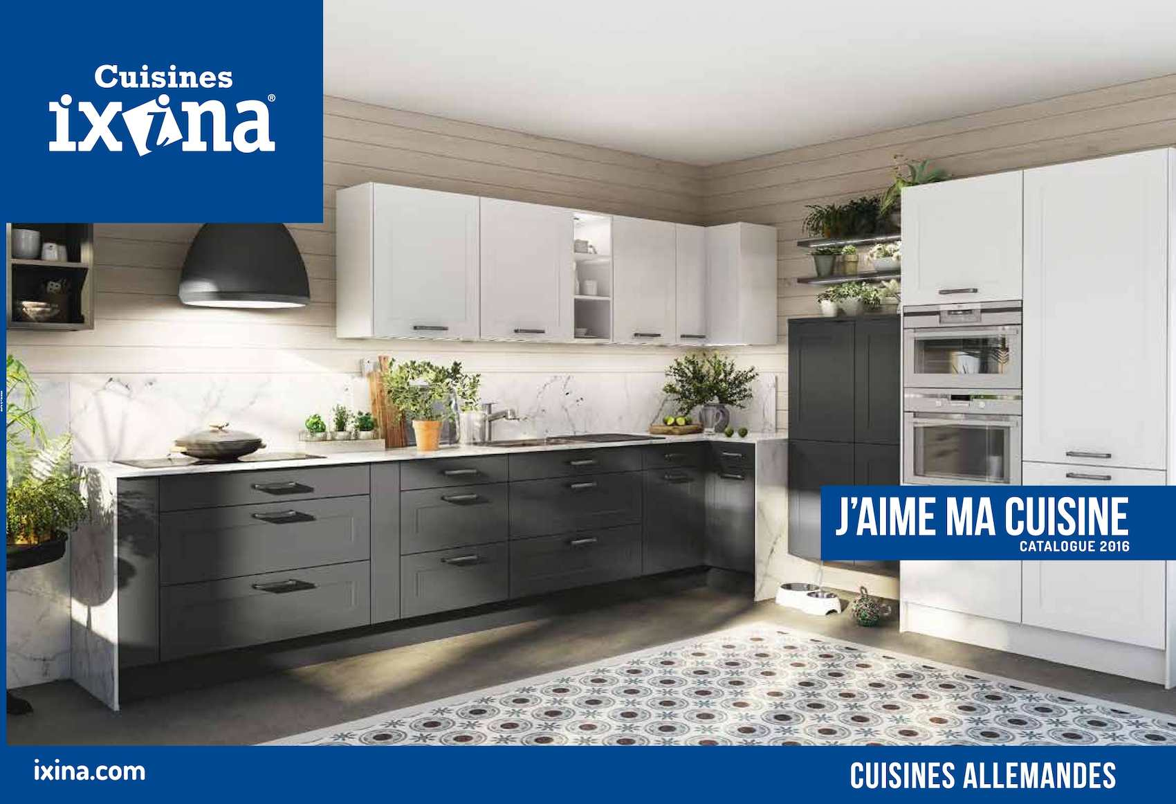 Calam o catalogue ixina 2016 final for Voir des cuisines amenagees