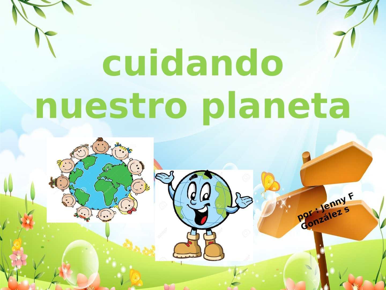 Calamo cartilla cuidando nuestro planeta thecheapjerseys Choice Image