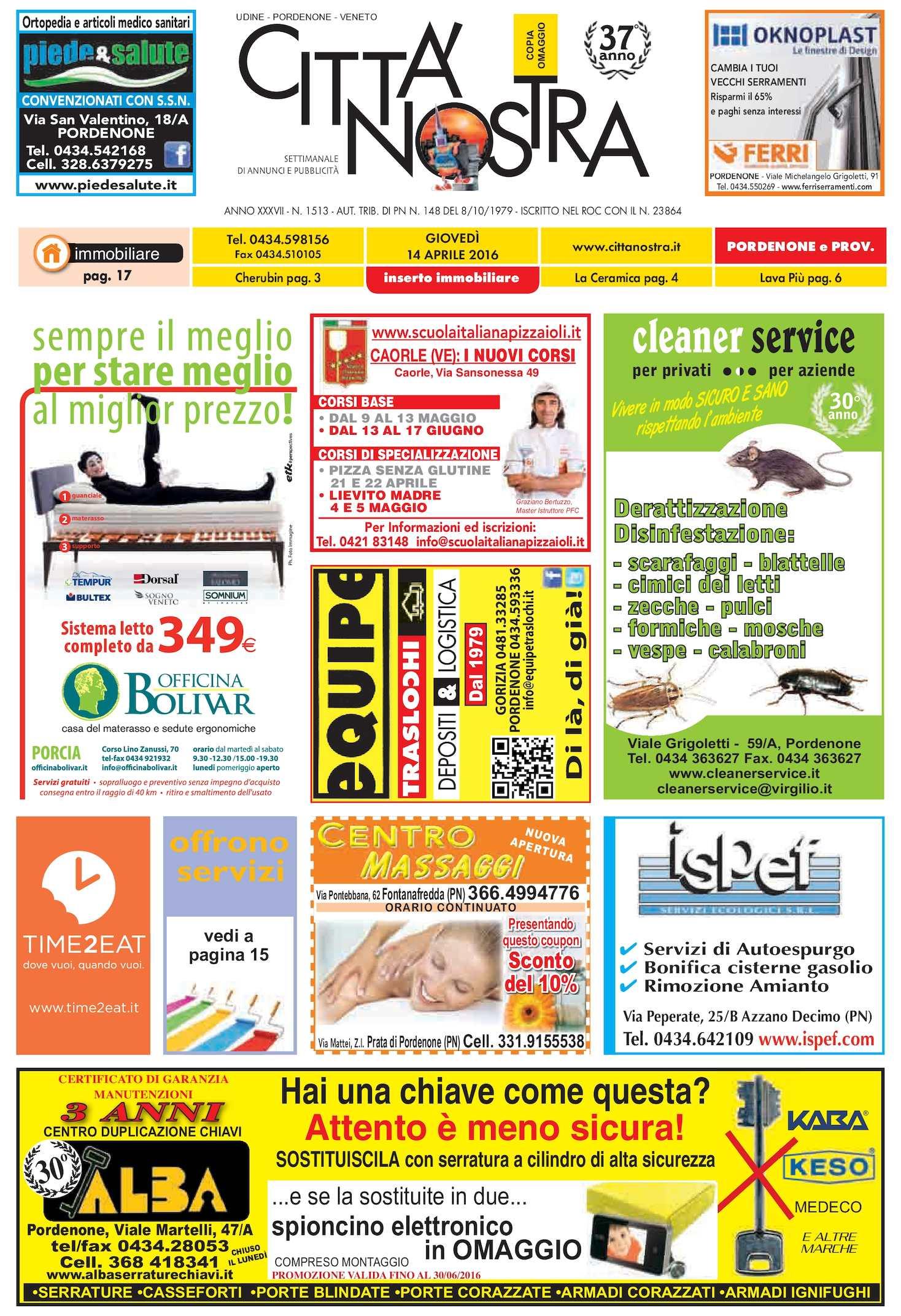 calaméo - città nostra pordenone del 14.04.2016 n. 1513 - La Sede Del Progetto E Larredamento Propan