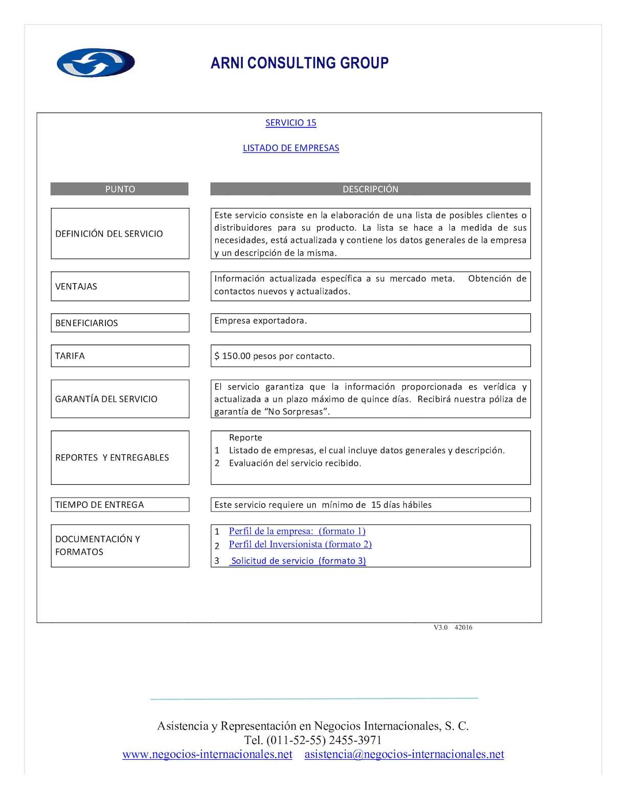 Calam o s15 listado de empresas for Listado de empresas malaguenas