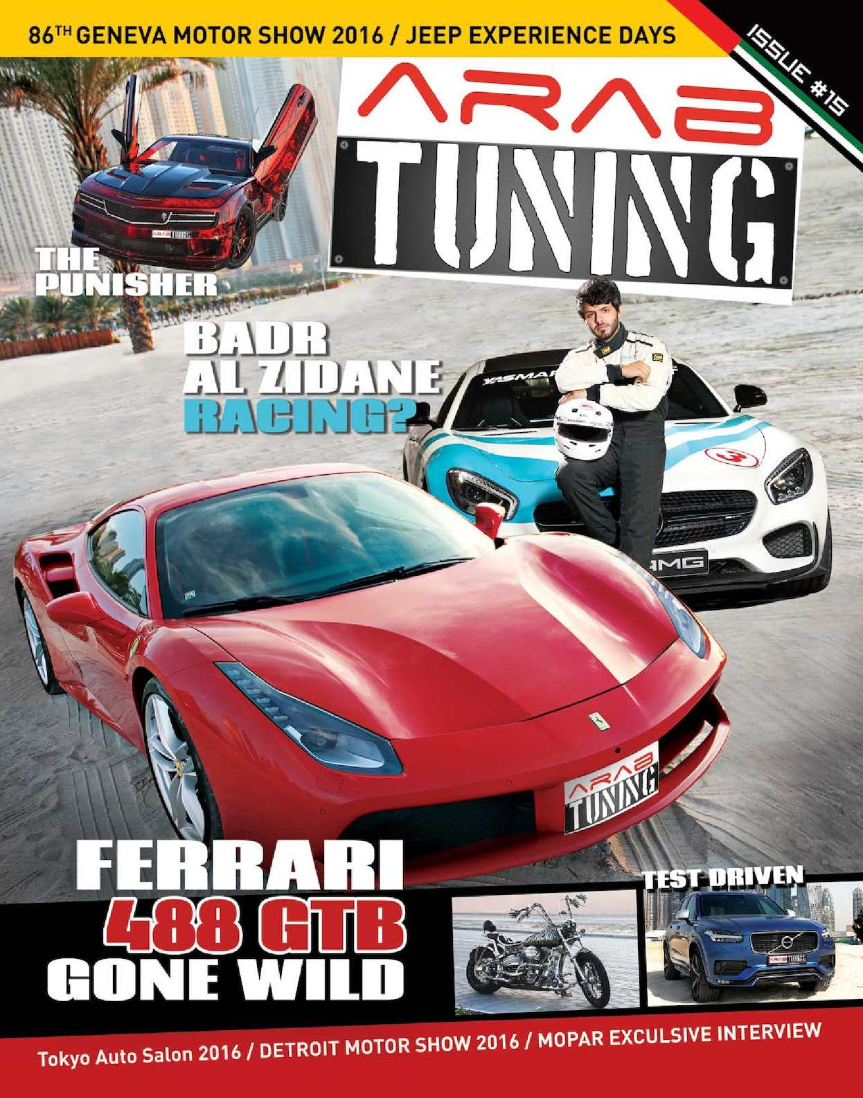 Calamo Arab Tuning Magazine Issue 15 Uae Edition Honda Keihin Cv Carburetor Diagram Car Interior Design
