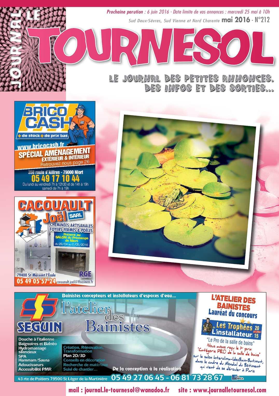 Calaméo Journal Le Tournesol MAI - Porte placard coulissante jumelé avec serrurier bourg la reine
