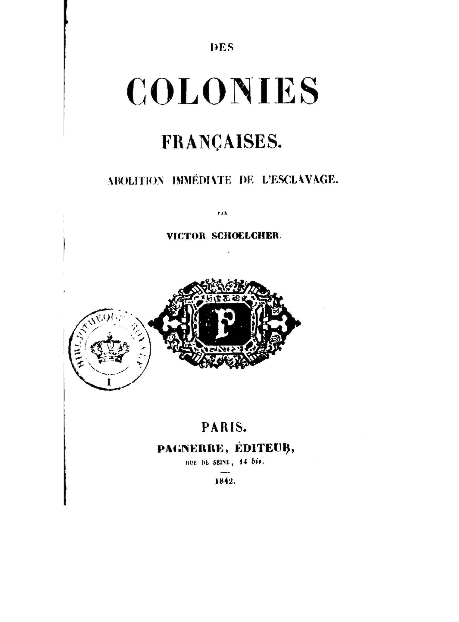 Calaméo Des Colonies Francaises Abolition Immediate De L