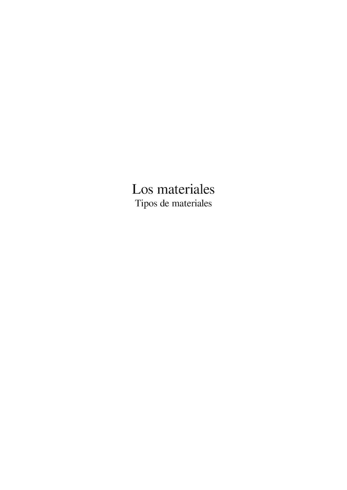 Calaméo - Los Materiales