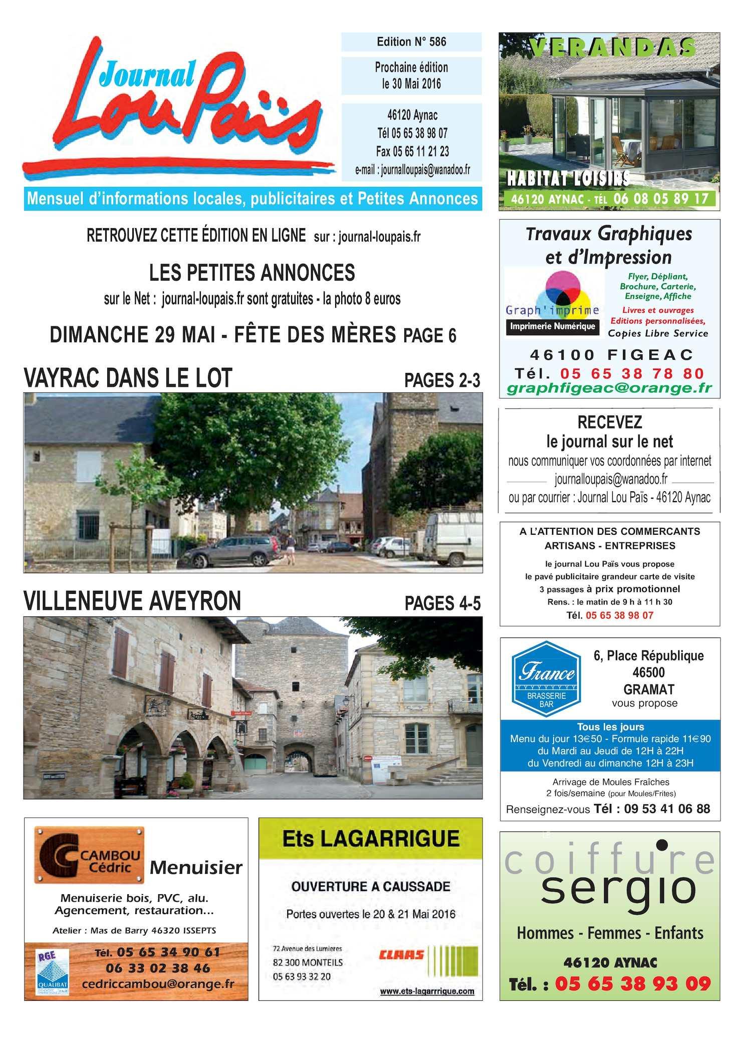 Calameo Edition N 586 Mai 2016