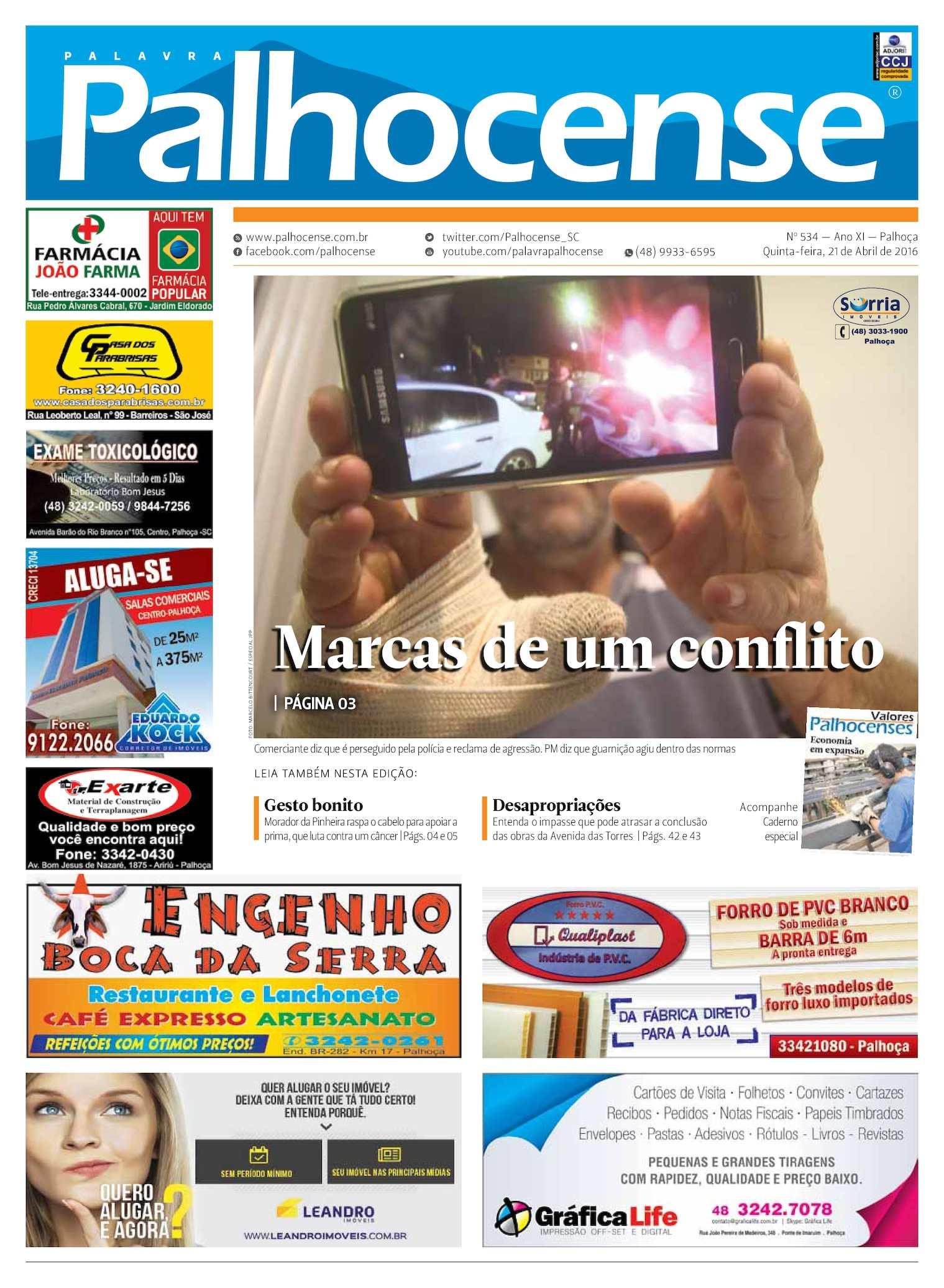 Calaméo - Jornal Palavra Palhocense - EDIÇÃO 534 df0840efb3